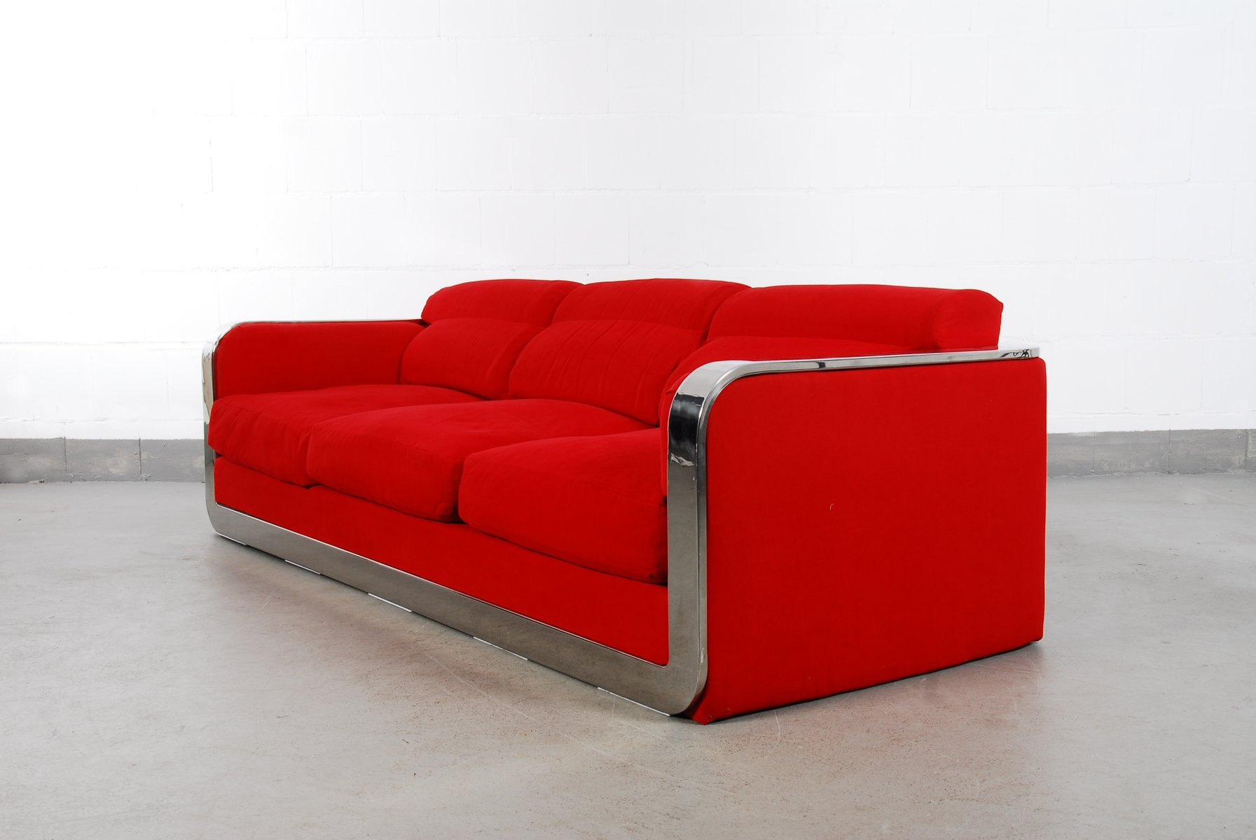 Vintage Italian Two-Seater & Three-Seater Sofa Set from Dada Industrial  Design