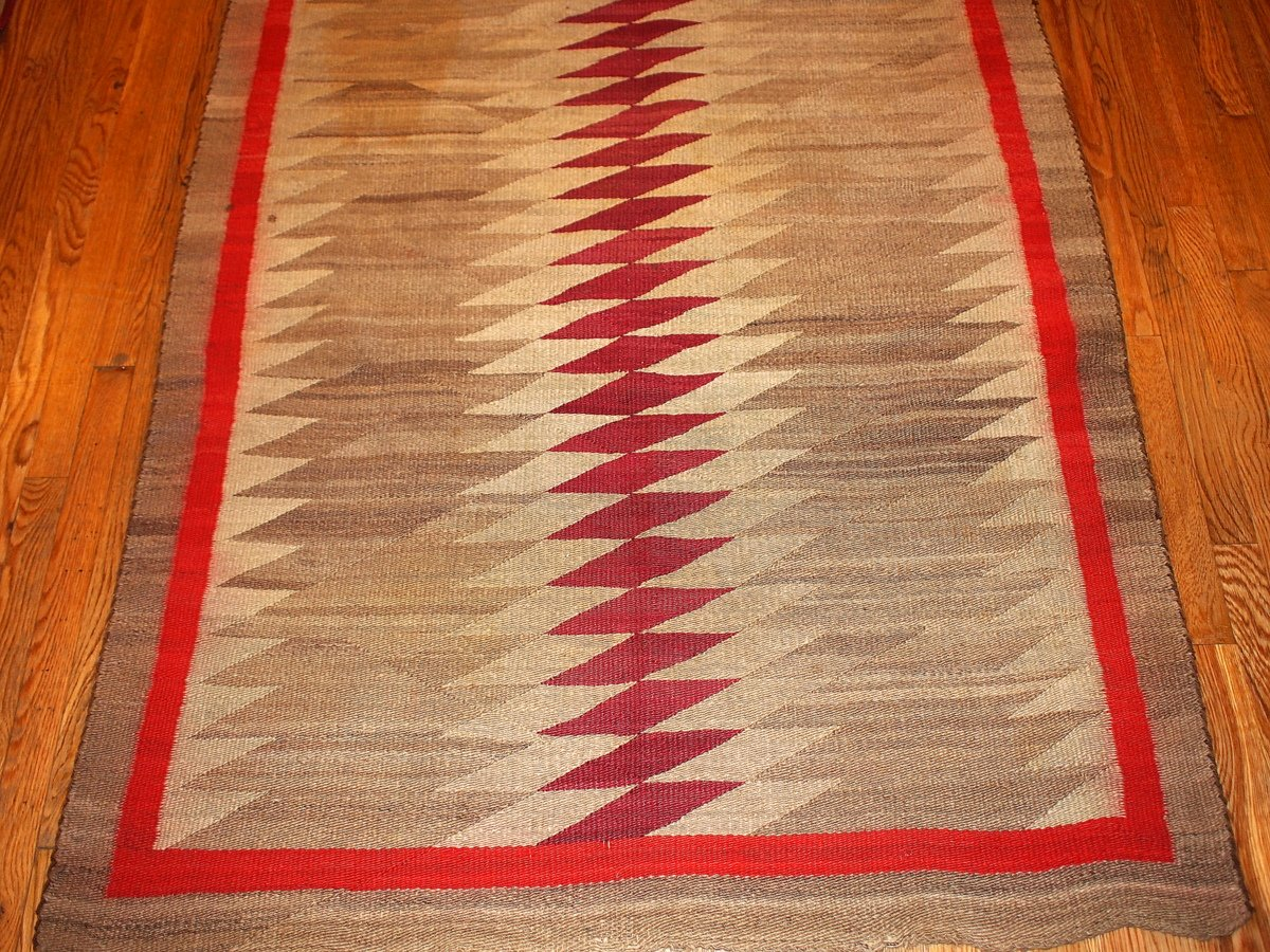 antique handmade native american navajo rug for sale at pamono. Black Bedroom Furniture Sets. Home Design Ideas