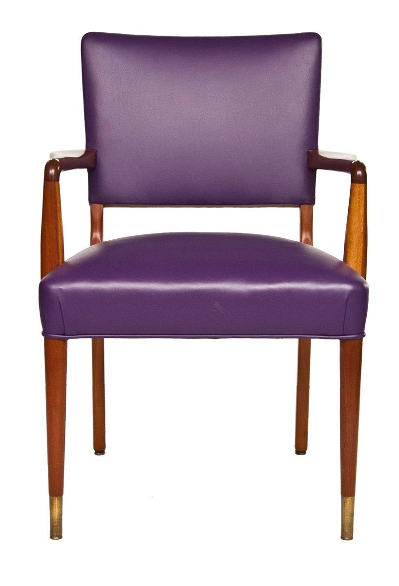 Chaise de bureau mid century en palissandre 1960s en - Chaise bureau originale ...