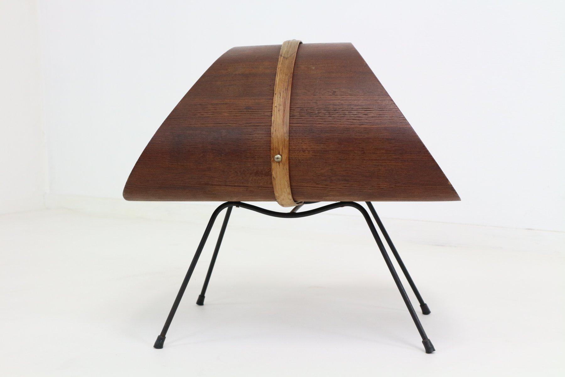 zeitschriftenst nder von carl aub ck 1950er bei pamono kaufen. Black Bedroom Furniture Sets. Home Design Ideas