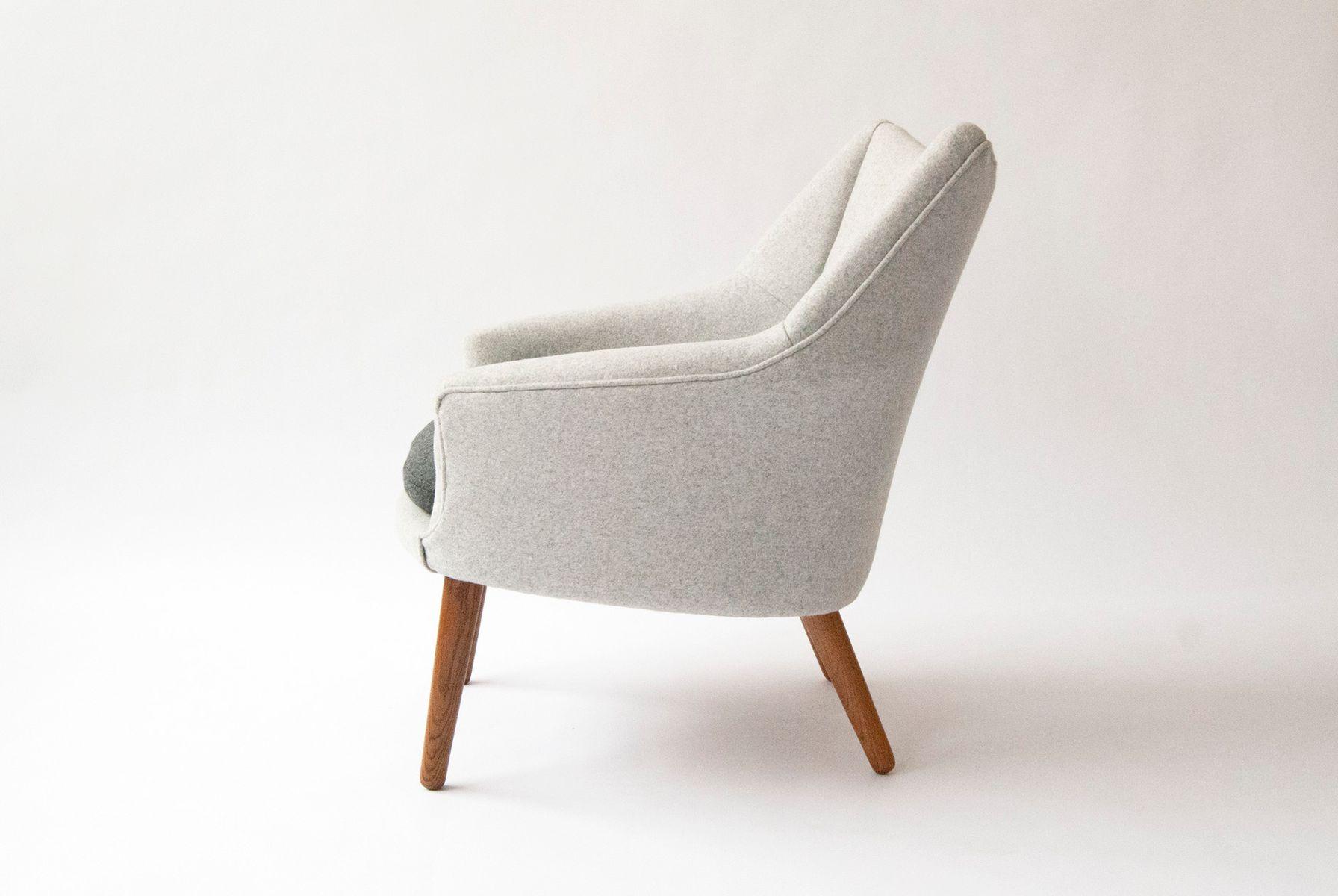 fauteuil lounge par kurt ostervig pour rolschau mobler 1958 en vente sur pamono. Black Bedroom Furniture Sets. Home Design Ideas
