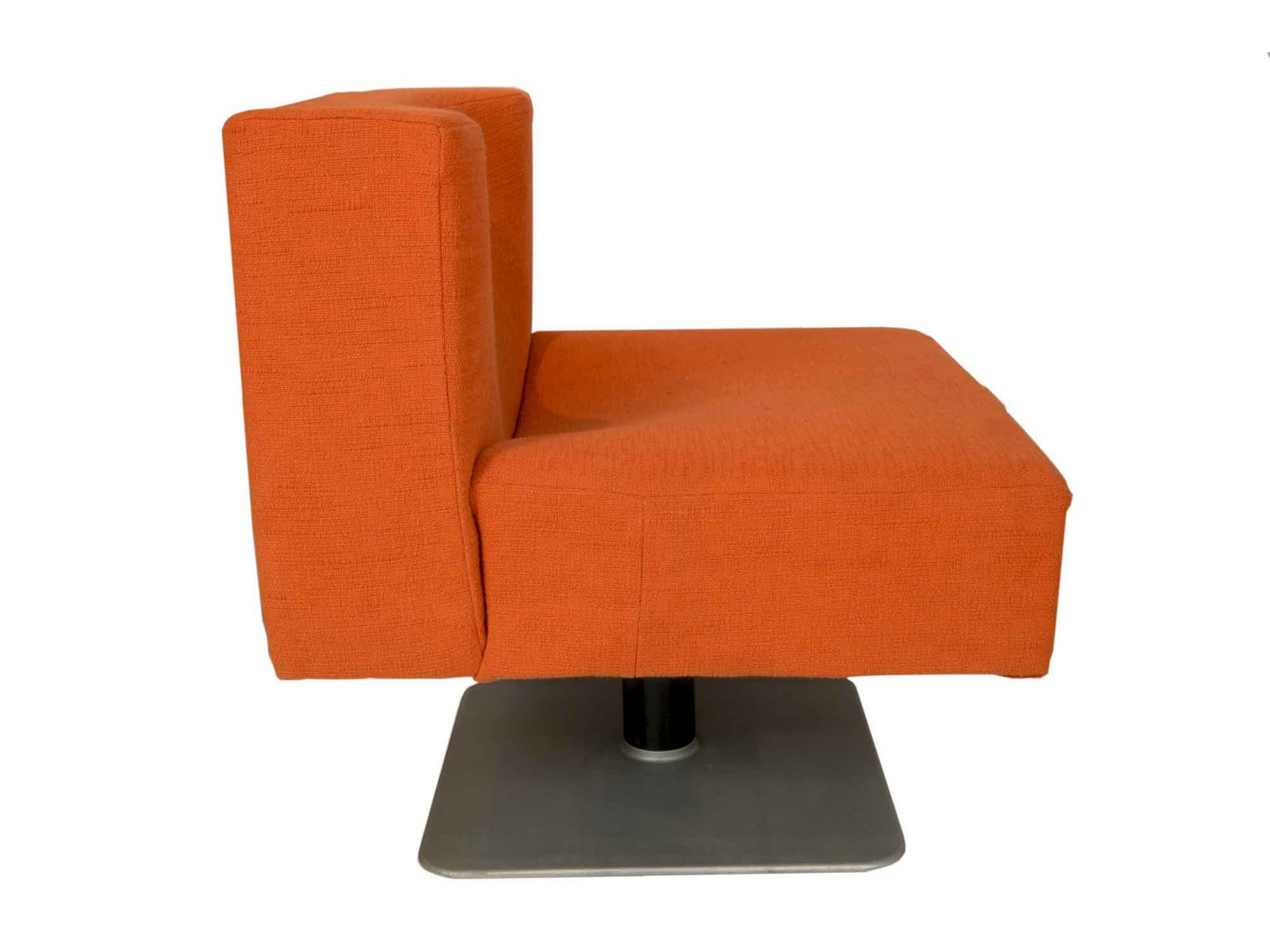 Modernist orange chairs by knoll 1960s set of 2 for sale at pamono - Knoll inc chairs ...