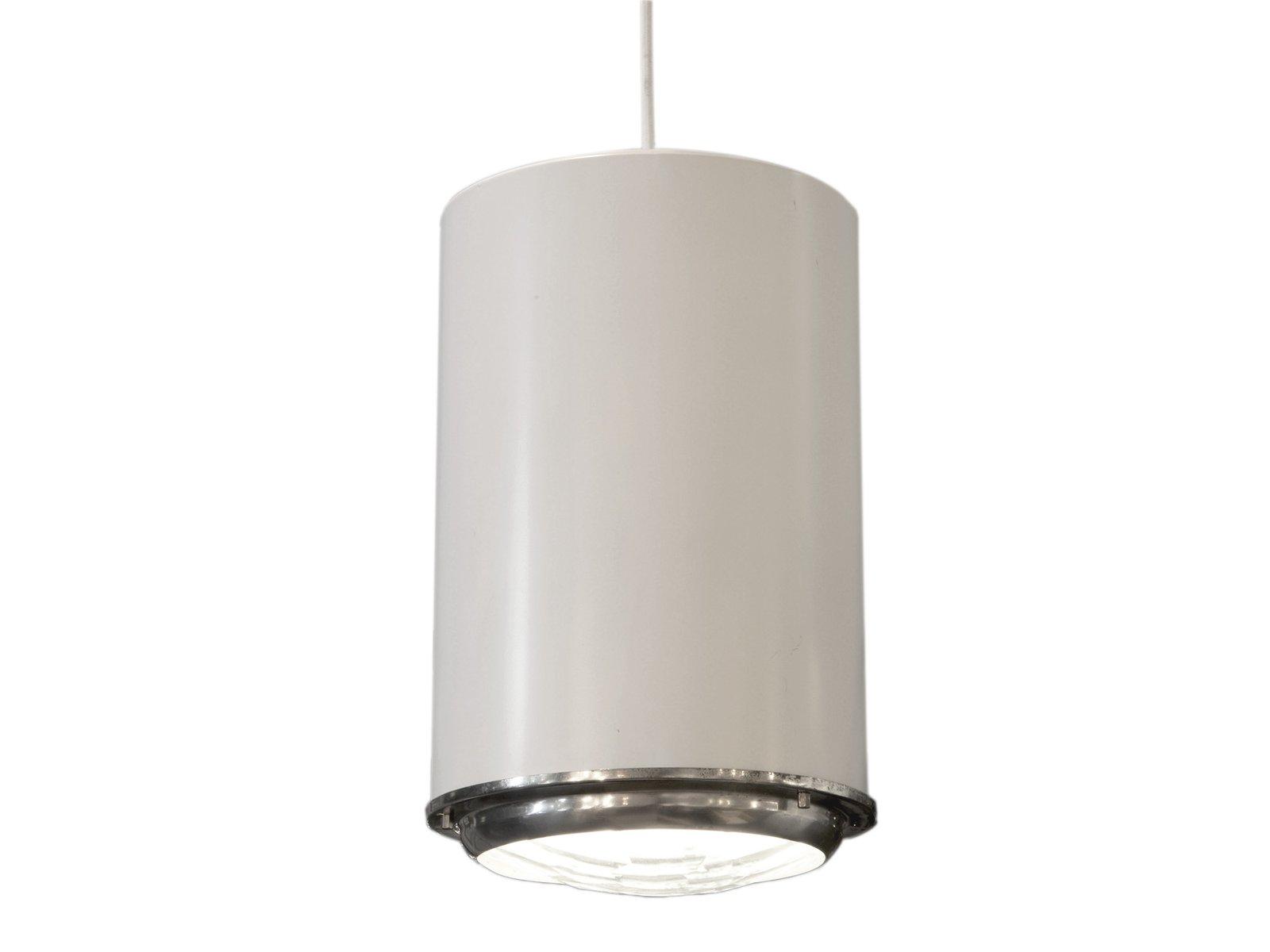 Lampada bianca di Fontana Arte, anni \'60 in vendita su Pamono