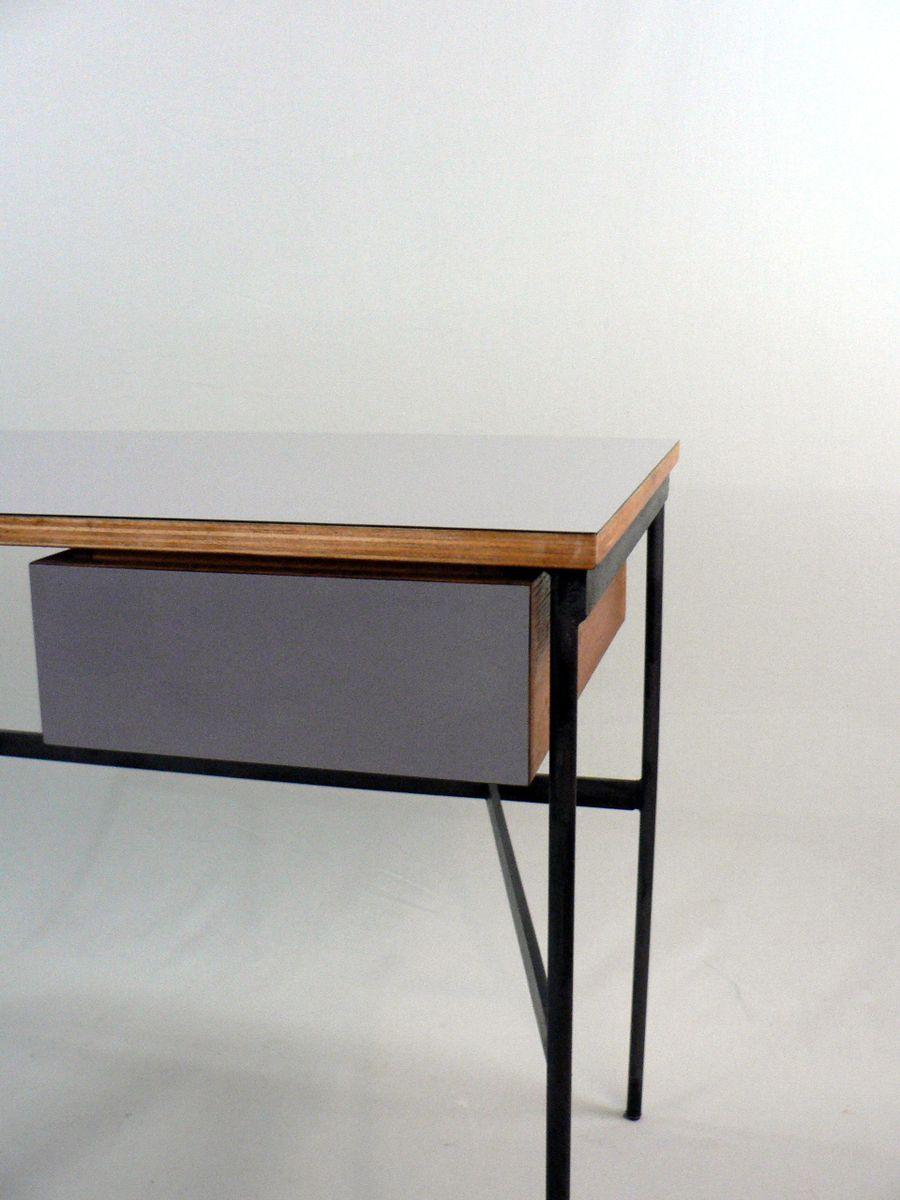 vintage cm 174 schreibtisch von pierre paulin f r thonet bei pamono kaufen. Black Bedroom Furniture Sets. Home Design Ideas
