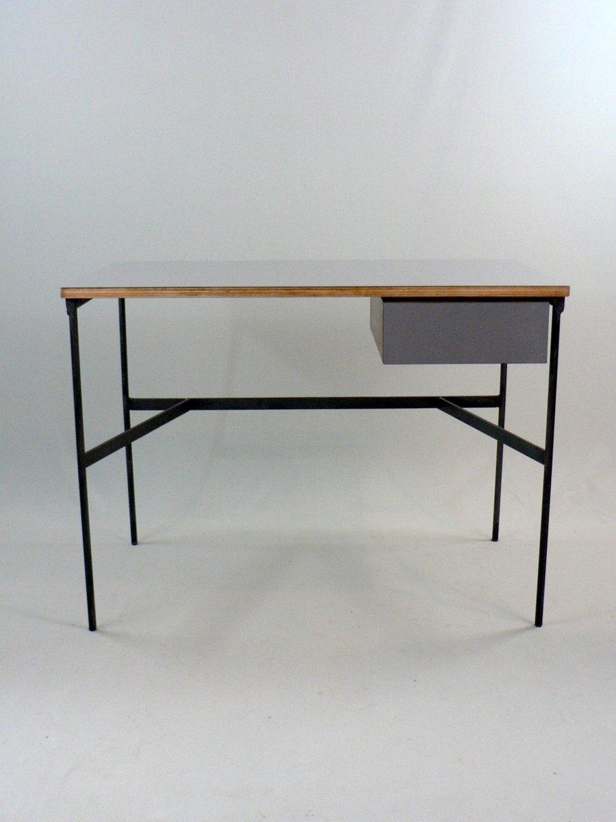 vintage cm 174 schreibtisch von pierre paulin f r thonet. Black Bedroom Furniture Sets. Home Design Ideas
