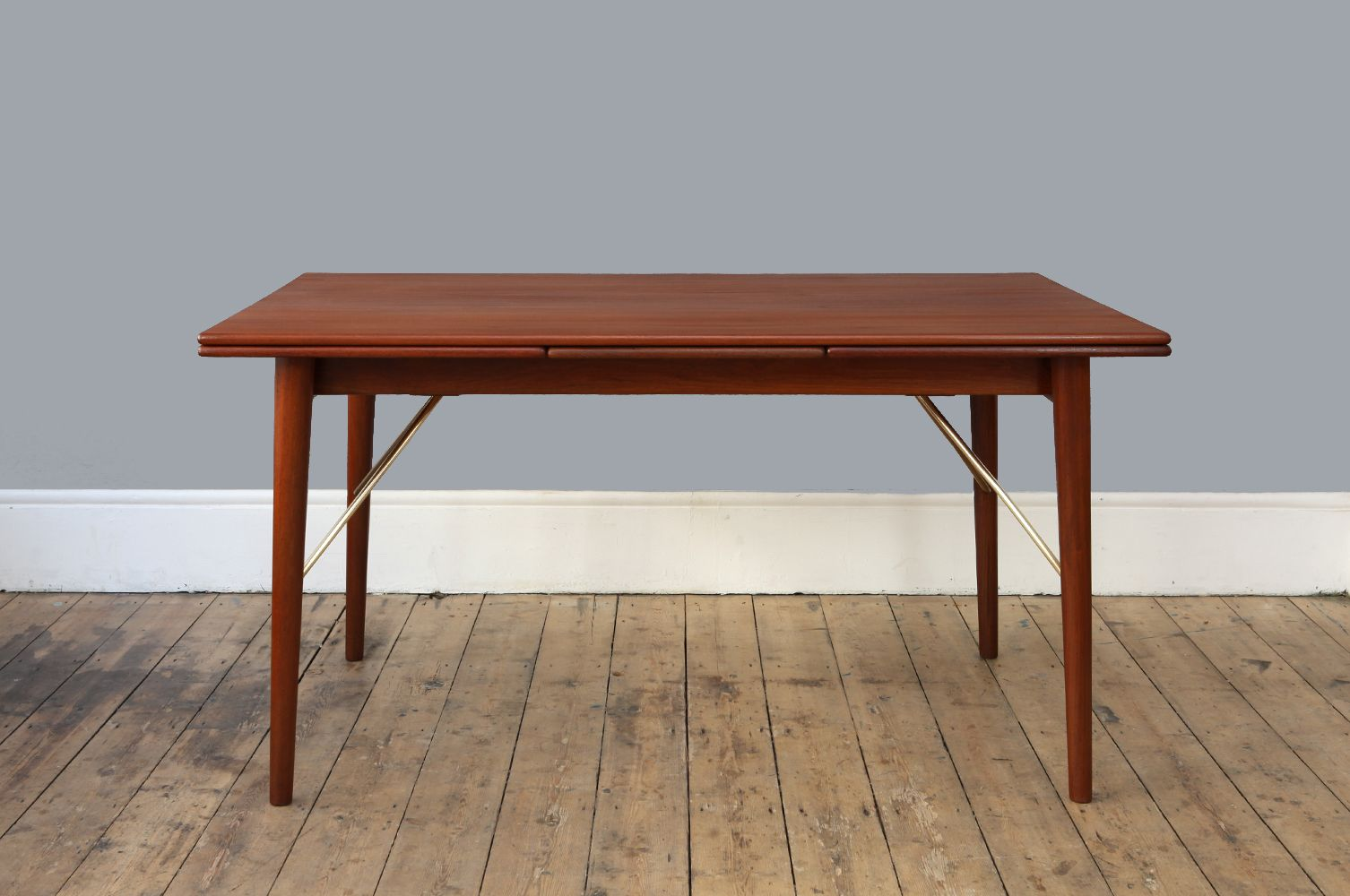 Vintage Extendable Dining Table Vintage Extendable Dining Table By Peter Hvidt Orla Mlgaard