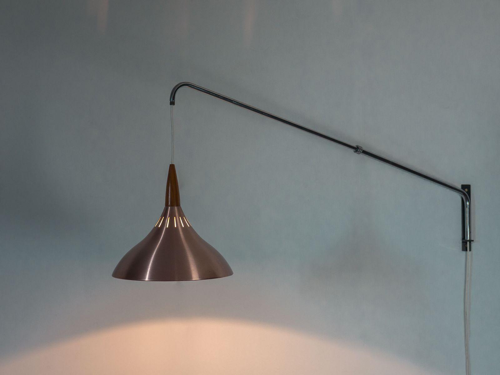 applique murale vintage ajustable de raak amsterdam en vente sur pamono. Black Bedroom Furniture Sets. Home Design Ideas