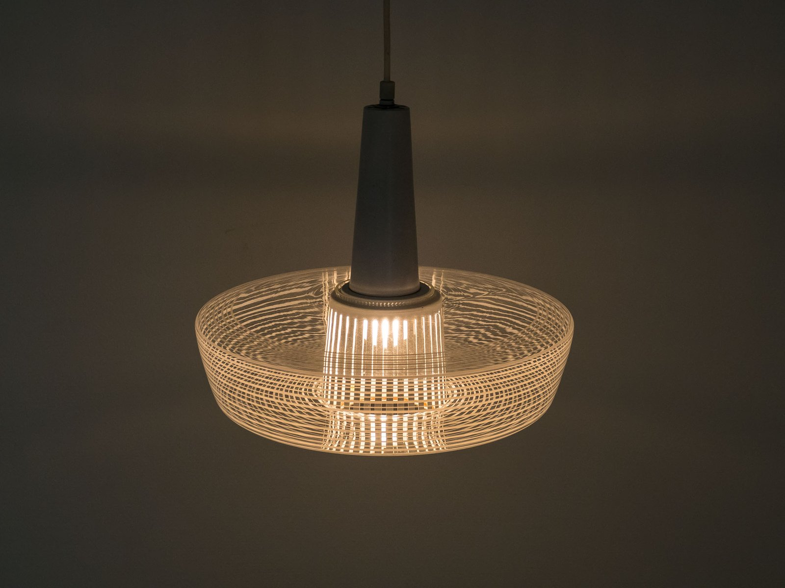Vintage Glass Pendant Light From Wila For Sale At Pamono