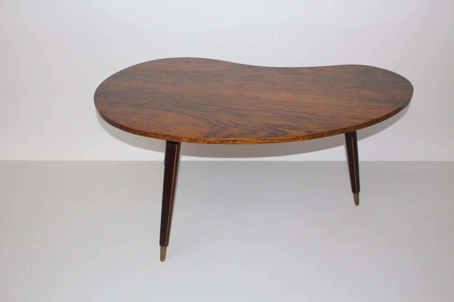 Viennese Walnut Coffee Table 1950s For Sale At Pamono