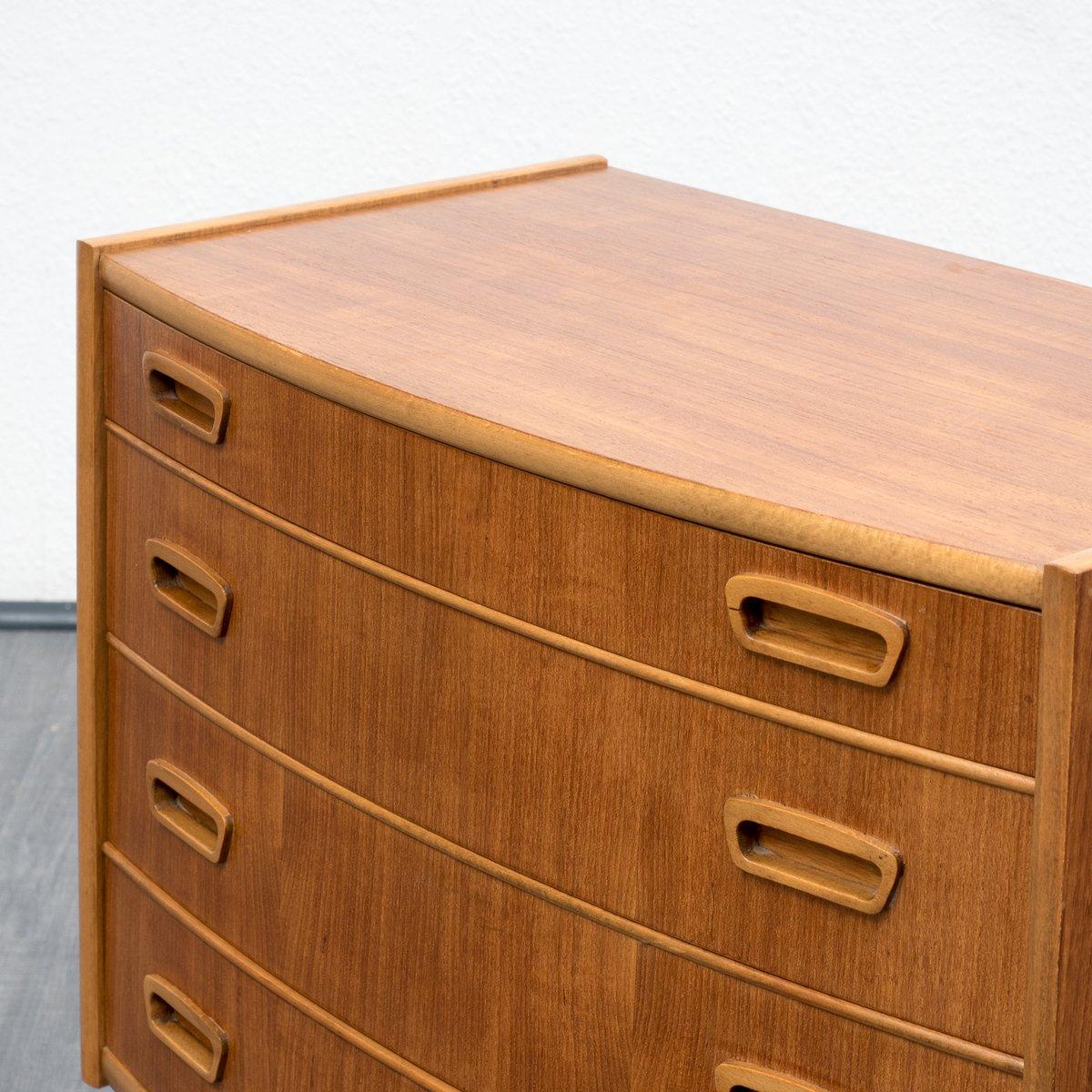 Petit meuble de rangement style scandinave en teck 1960s - Petit meuble rangement ...