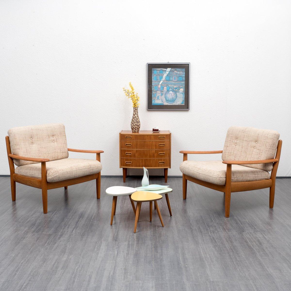 Petit meuble de rangement style scandinave en teck 1960s - Meuble style scandinave ...