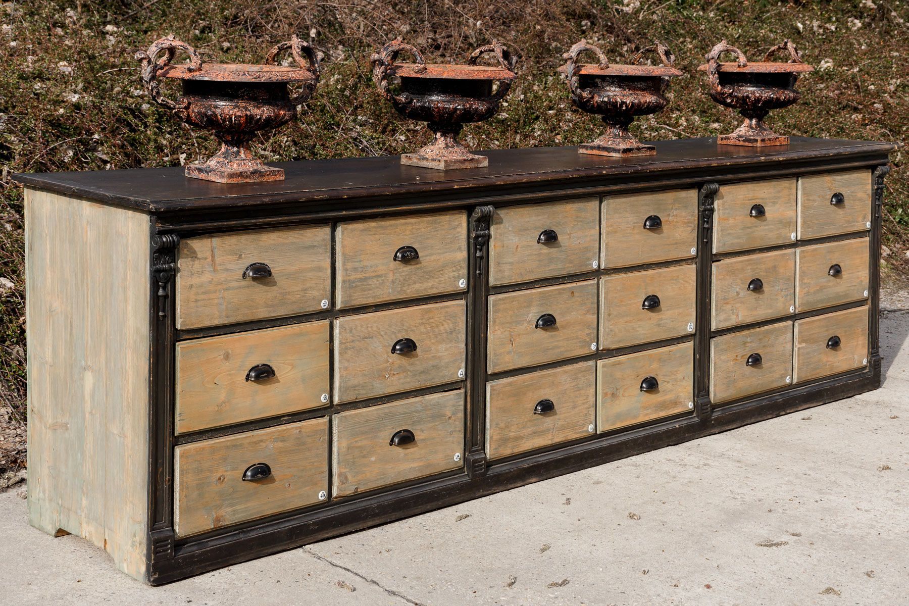large antique wooden chest of drawers 1890s for sale at pamono. Black Bedroom Furniture Sets. Home Design Ideas