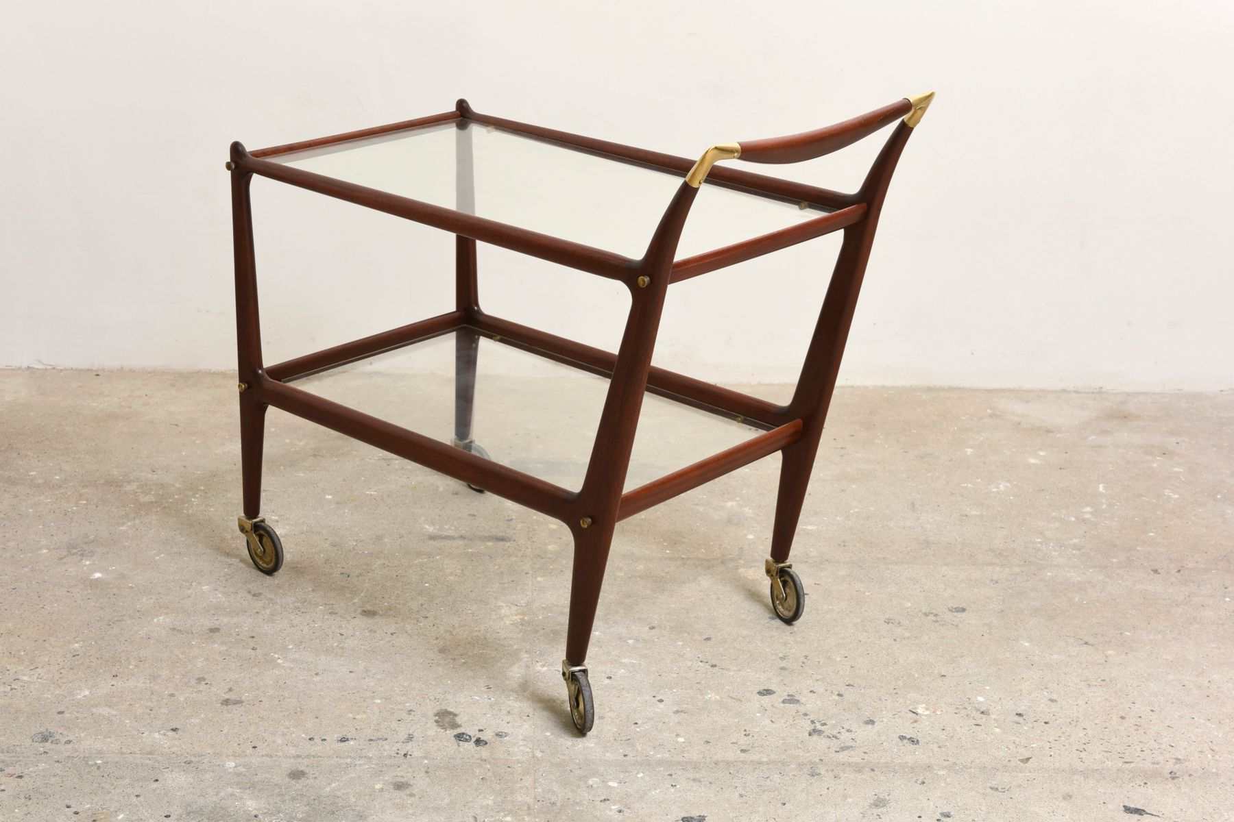italian bar furniture. italian bar cart by cesare lacca 1965 furniture