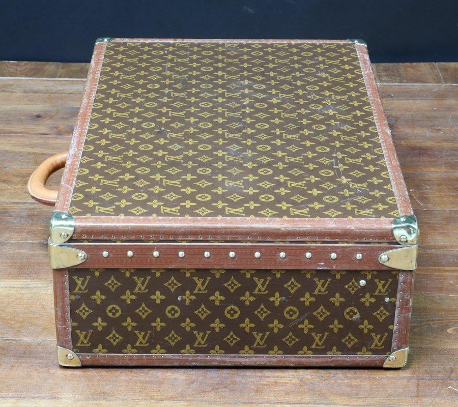 valigia vintage di pelle di louis vuitton anni 39 50 in