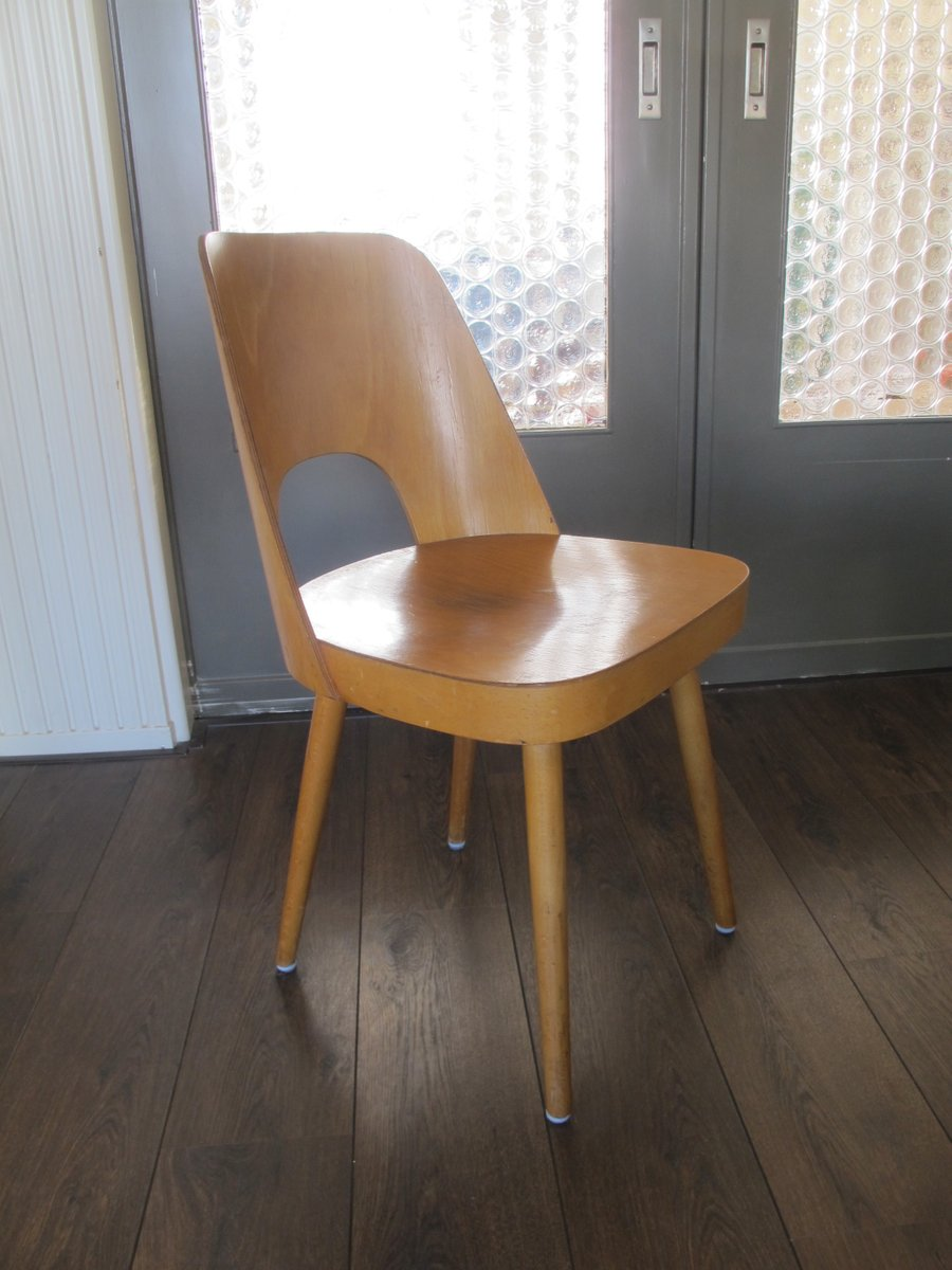 Vintage bent plywood thonet chair - Plywood Chair By Oswald Haerdtl For Thonet 1955 For Sale