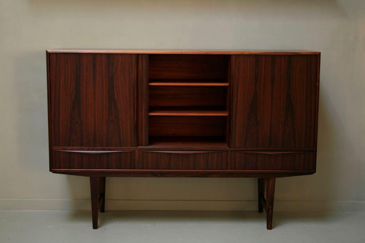 armoire en palissandre par e m bach 1961 en vente sur pamono. Black Bedroom Furniture Sets. Home Design Ideas
