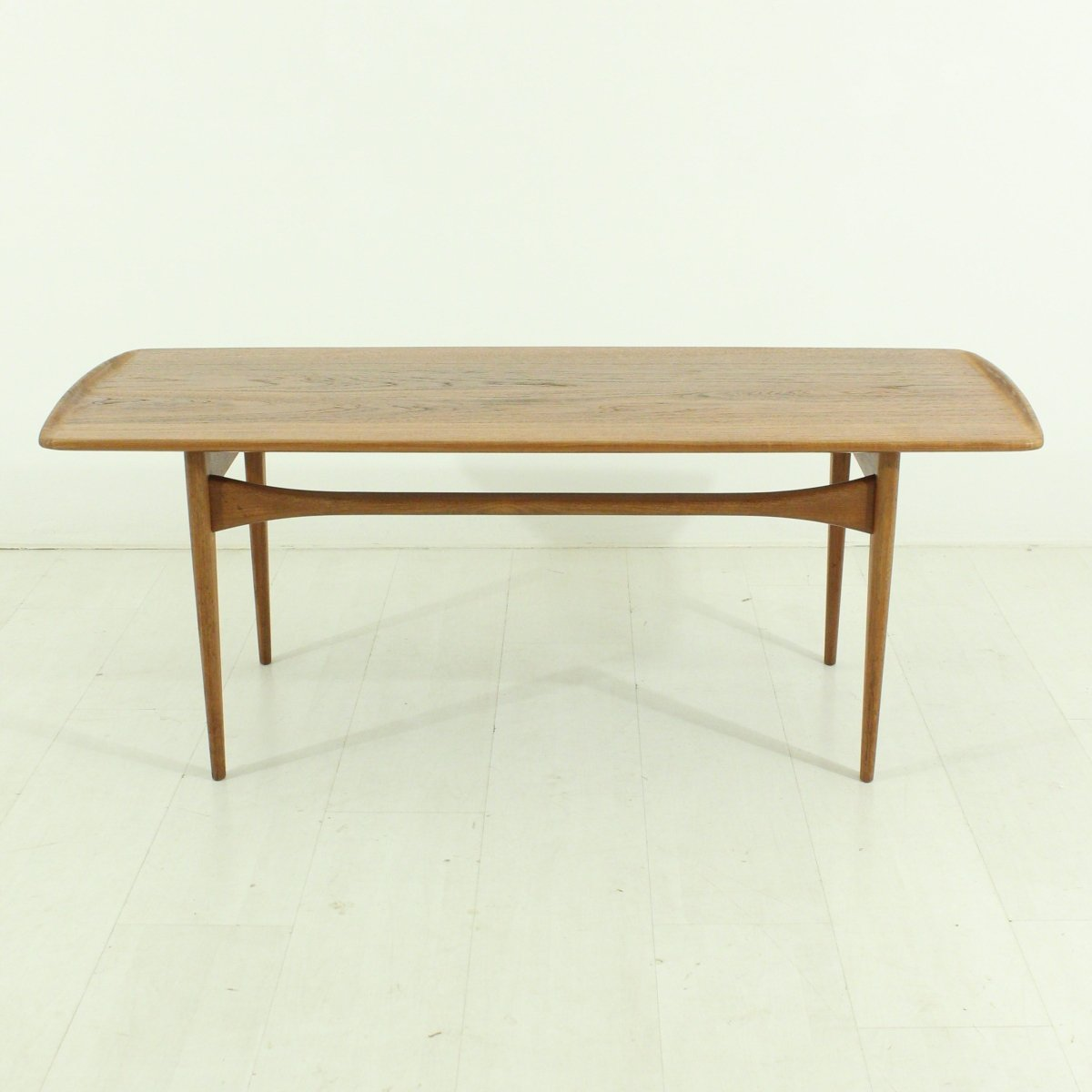 Danish teak coffee table by tove edvard kindt larsen for france danish teak coffee table by tove edvard kindt larsen for france son 1920s geotapseo Images