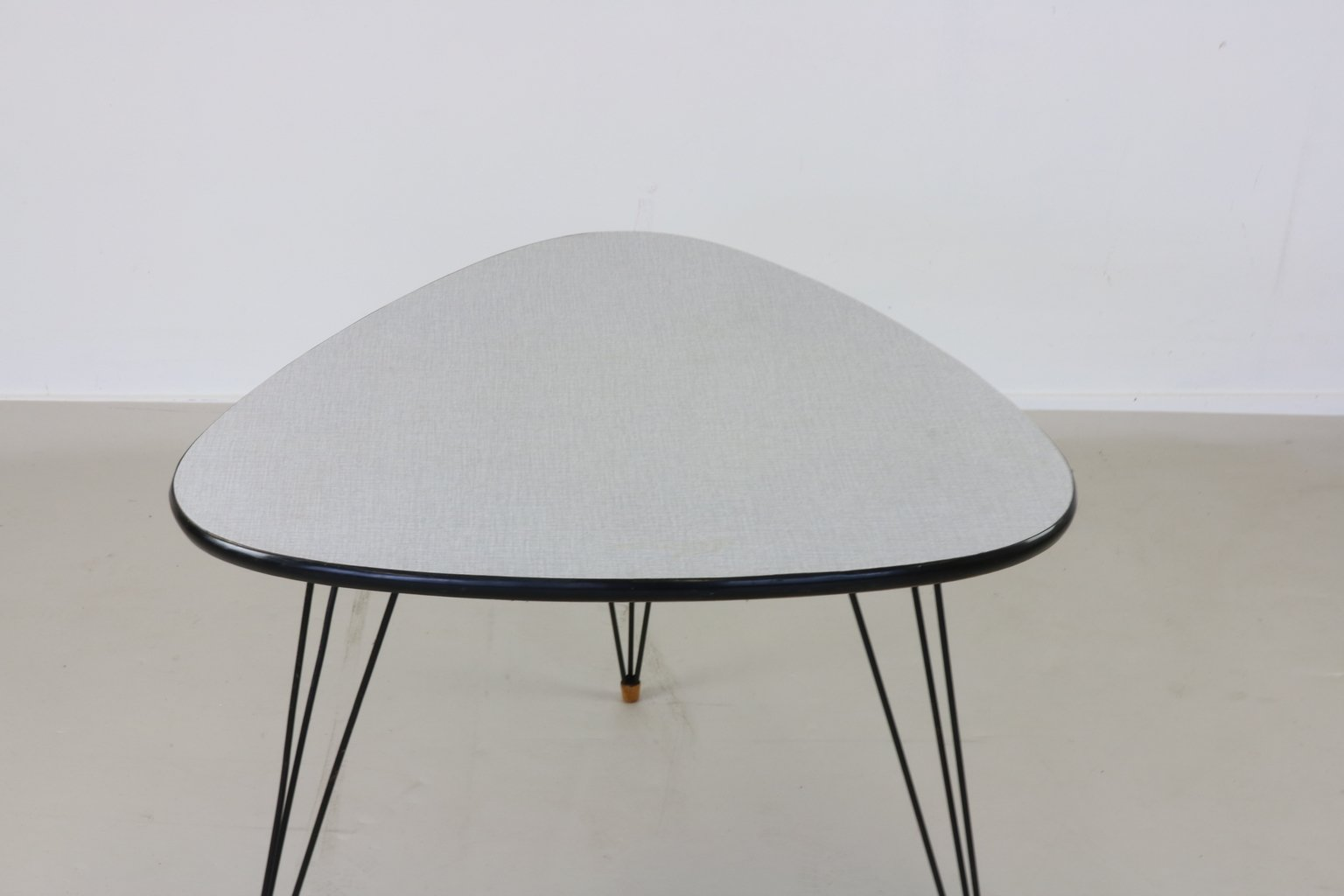 Small Coffee Table With Hairpin Legs 1955 For Sale At Pamono