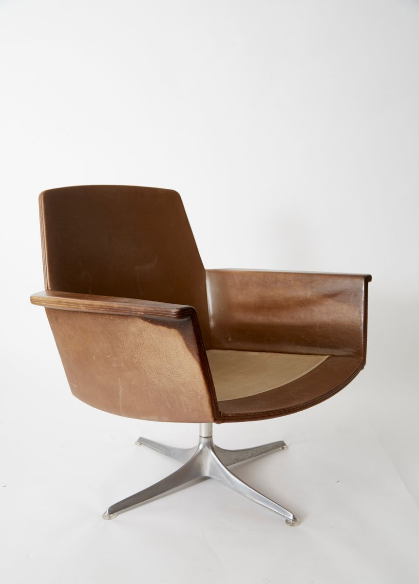 Vintage Sedia Club Chair By Horst Br 252 Ning For Cor 1966