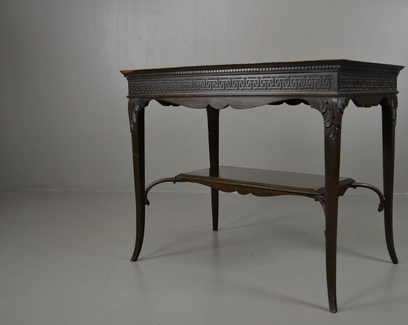 Antique edwardian mahogany console table for sale at pamono for Sofa table rules