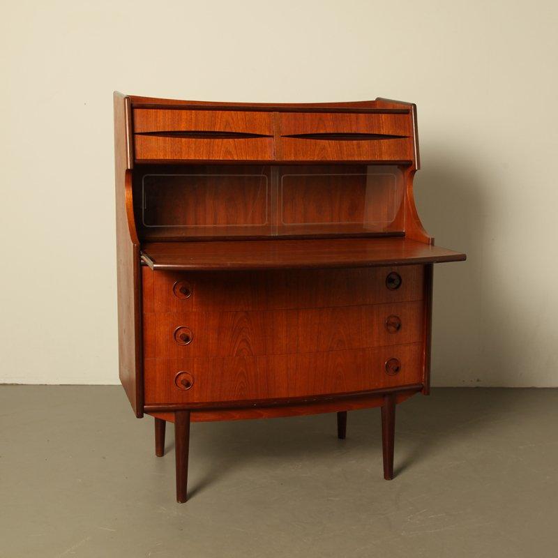 d nischer mid century teak sekret r bei pamono kaufen. Black Bedroom Furniture Sets. Home Design Ideas