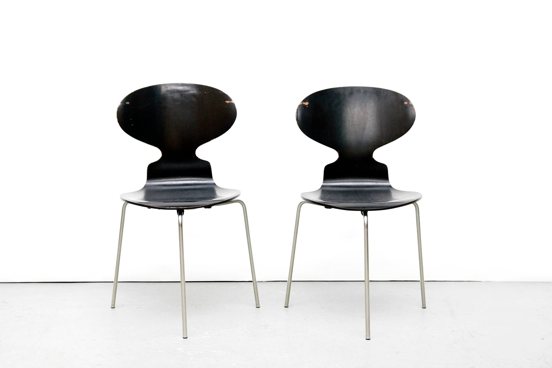 Model FH 3100 Ant Chairs by Arne Jacobsen for Fritz Hansen 1969