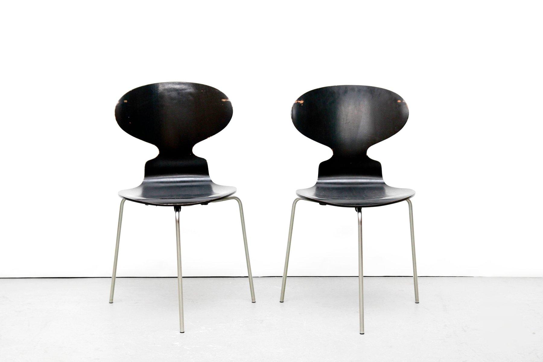 modell fh 3100 ant st hle von arne jacobsen f r fritz. Black Bedroom Furniture Sets. Home Design Ideas