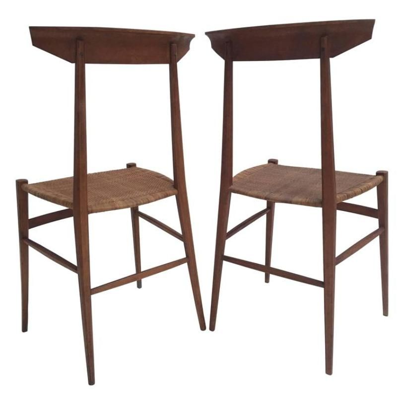 Modernist Chairs From V Negrello 1950s Set Of 2 For Sale At Pamono