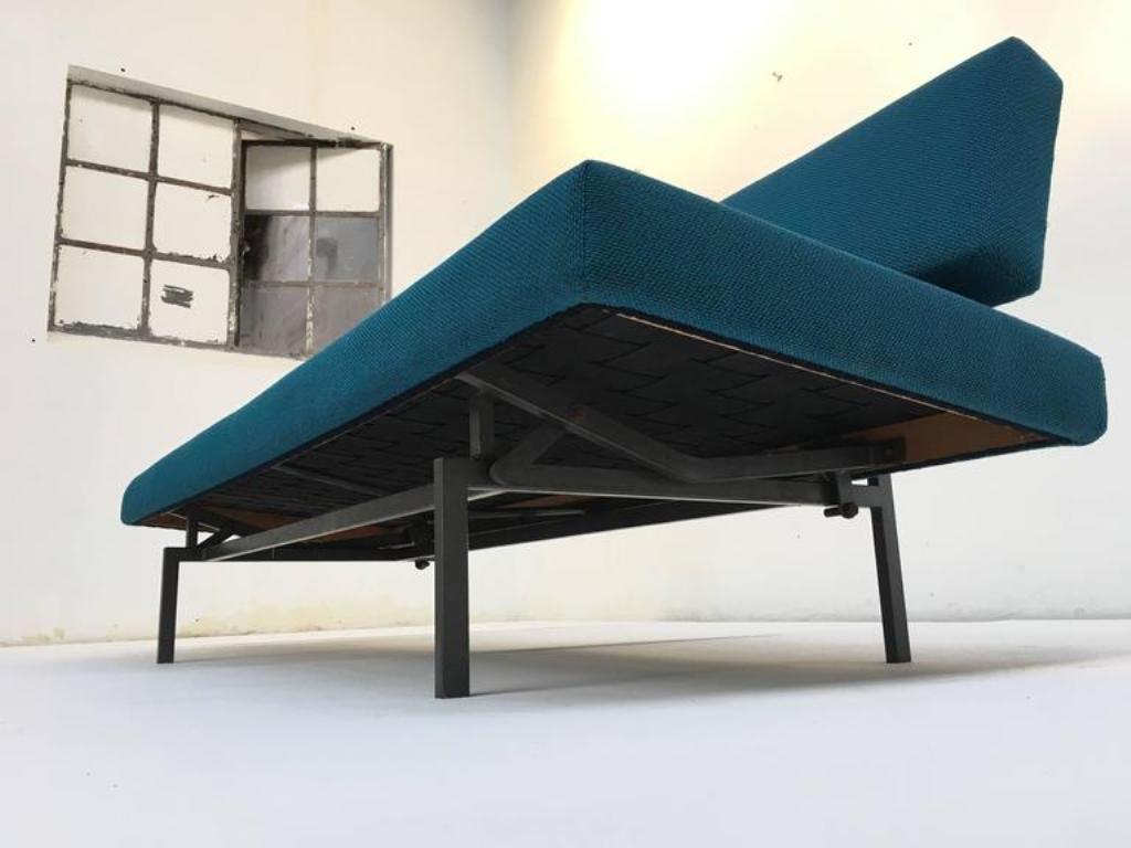 sofa bed from gijs van der sluis 1960s for sale at pamono. Black Bedroom Furniture Sets. Home Design Ideas
