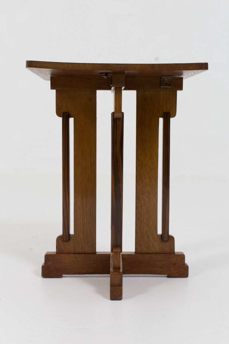 Art deco hague school occasional table by p e l izeren for Occasional tables