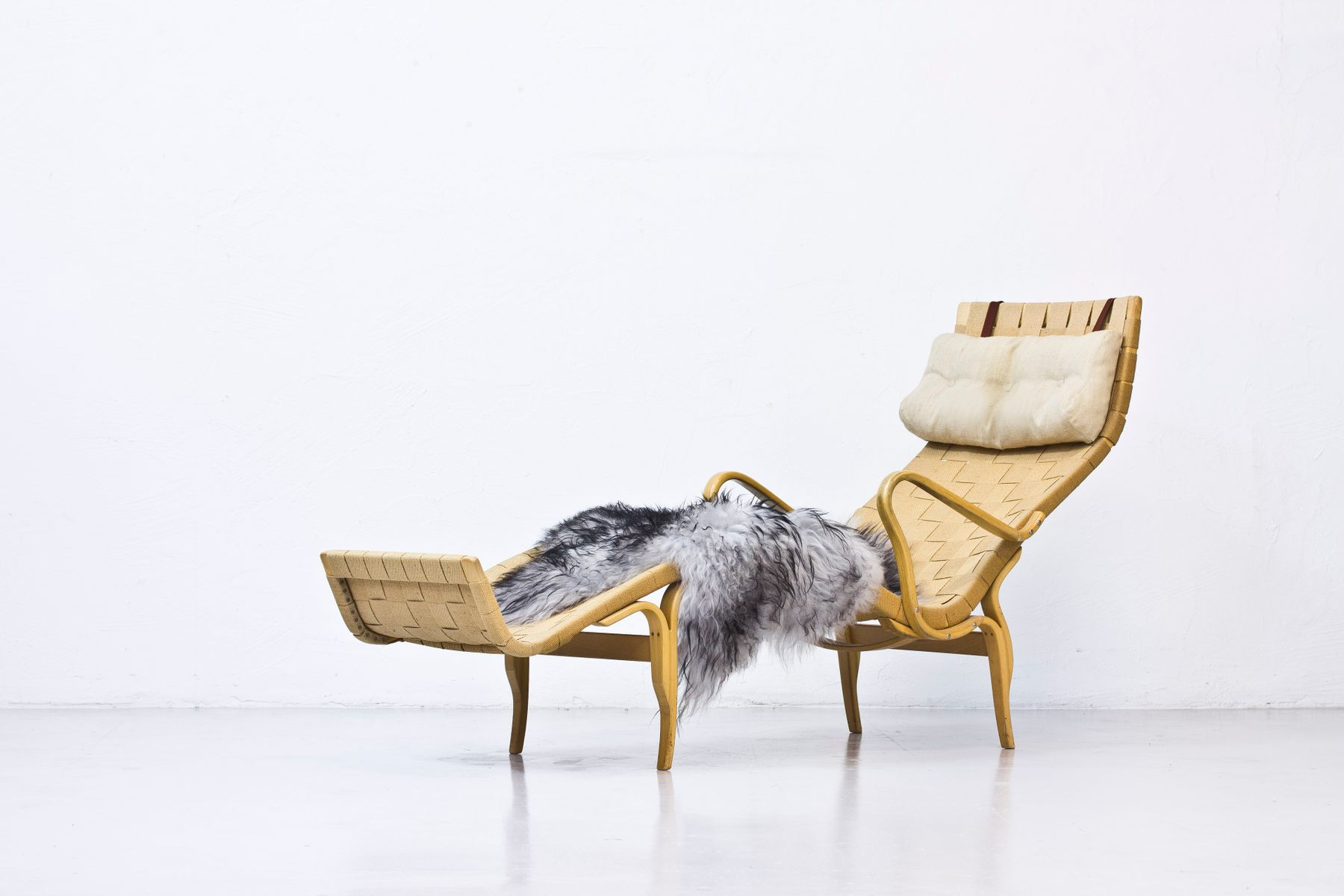 Pernilla 3 Lounge Chair by Bruno Mathsson for Karl Mathsson 1961