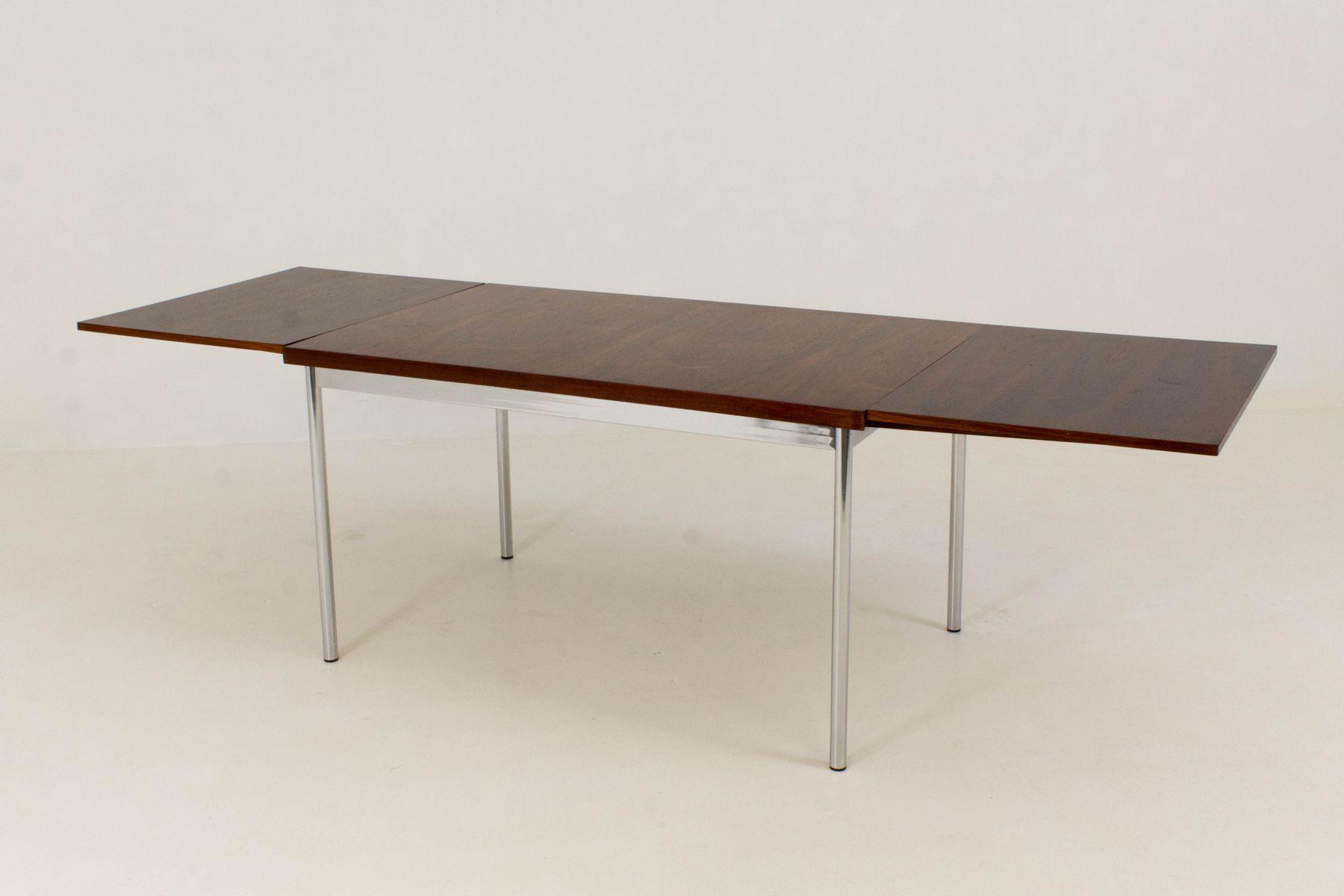Table de salle manger extensible de pastoe 1960s en for Table de salle a manger usage