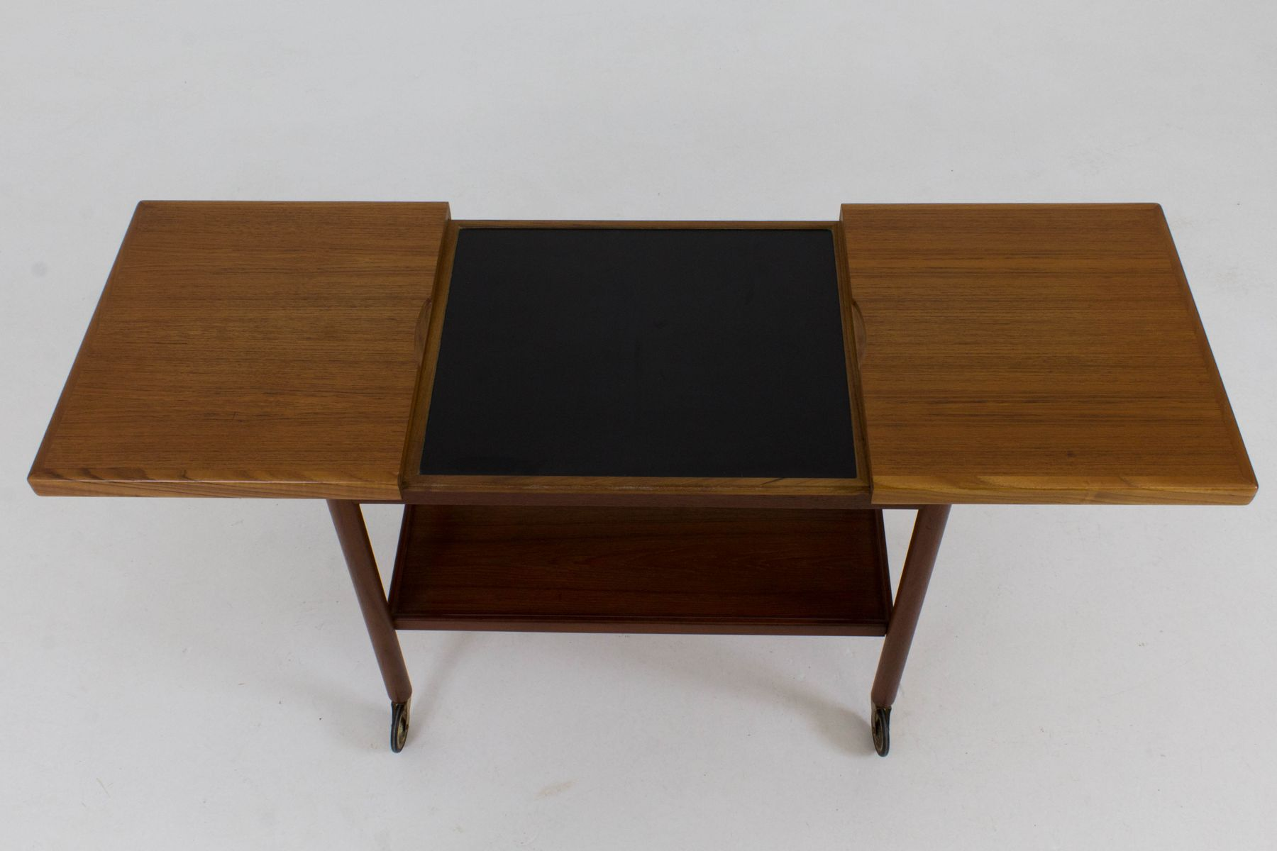 Outdoor buffet table serving cart as well century modern console table - Danish Mid Century Serving Cart By Kurt Ostervig For Jason Mobler 1960s