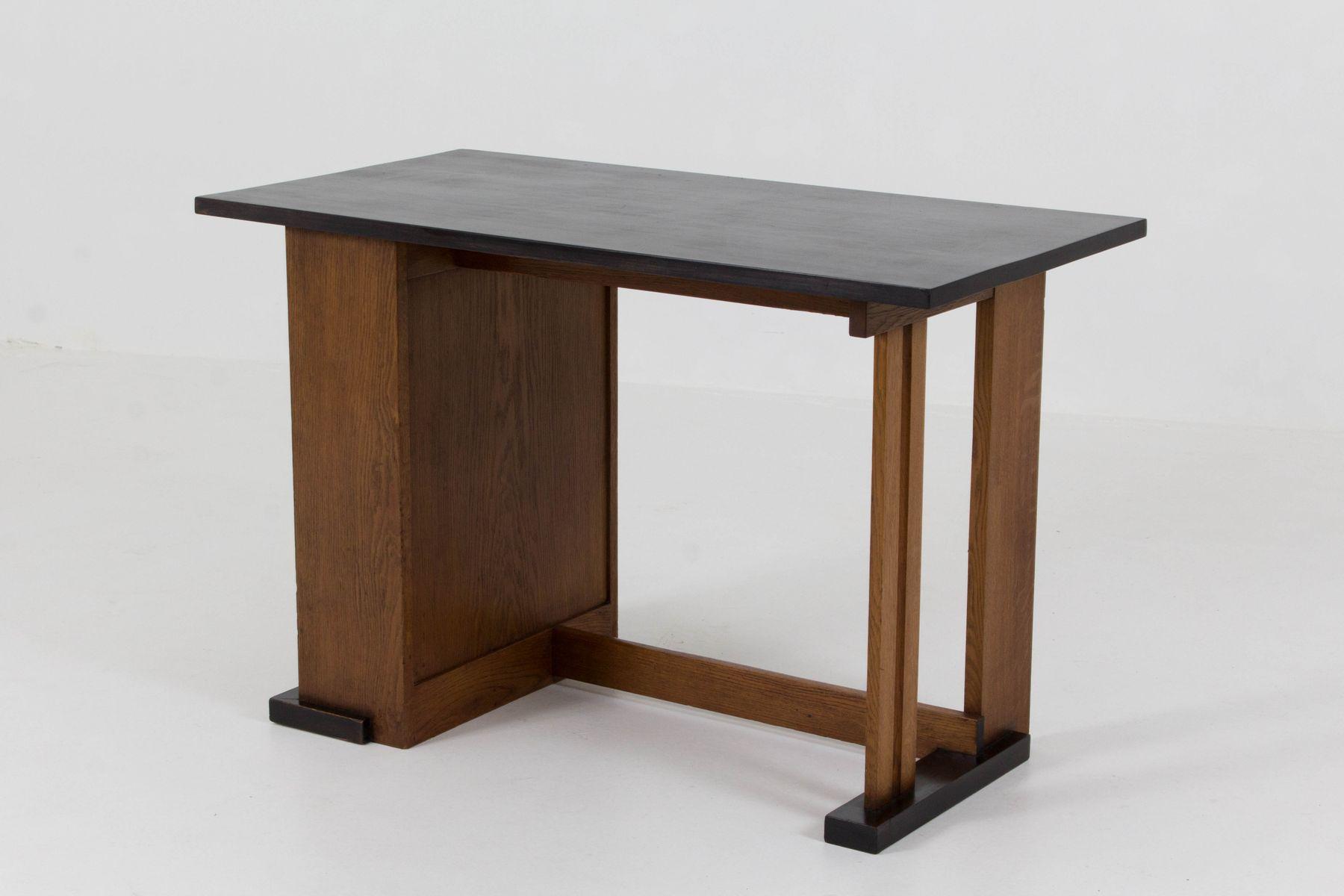 art deco haager schule schreibtisch von cor alons f r l o. Black Bedroom Furniture Sets. Home Design Ideas