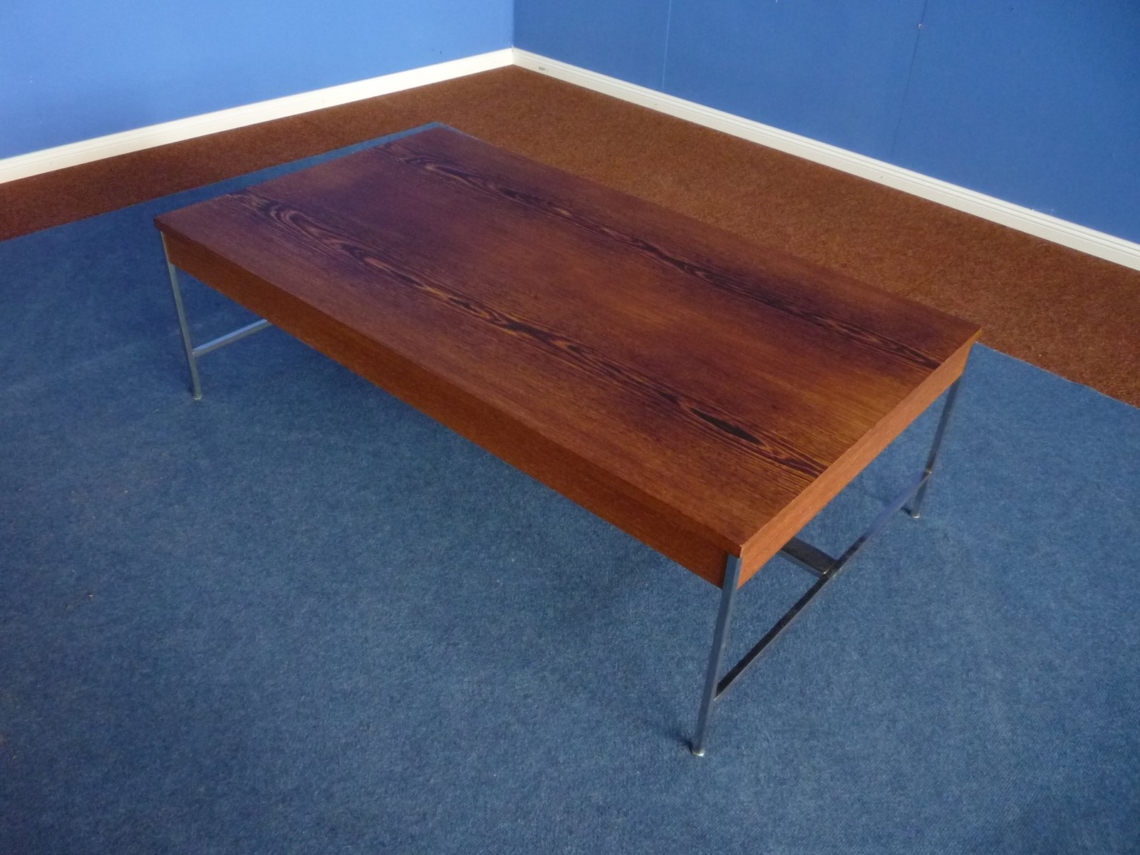 Coffee Table In Wenge By George Nelson For Herman Miller 1957 For Sale At Pamono