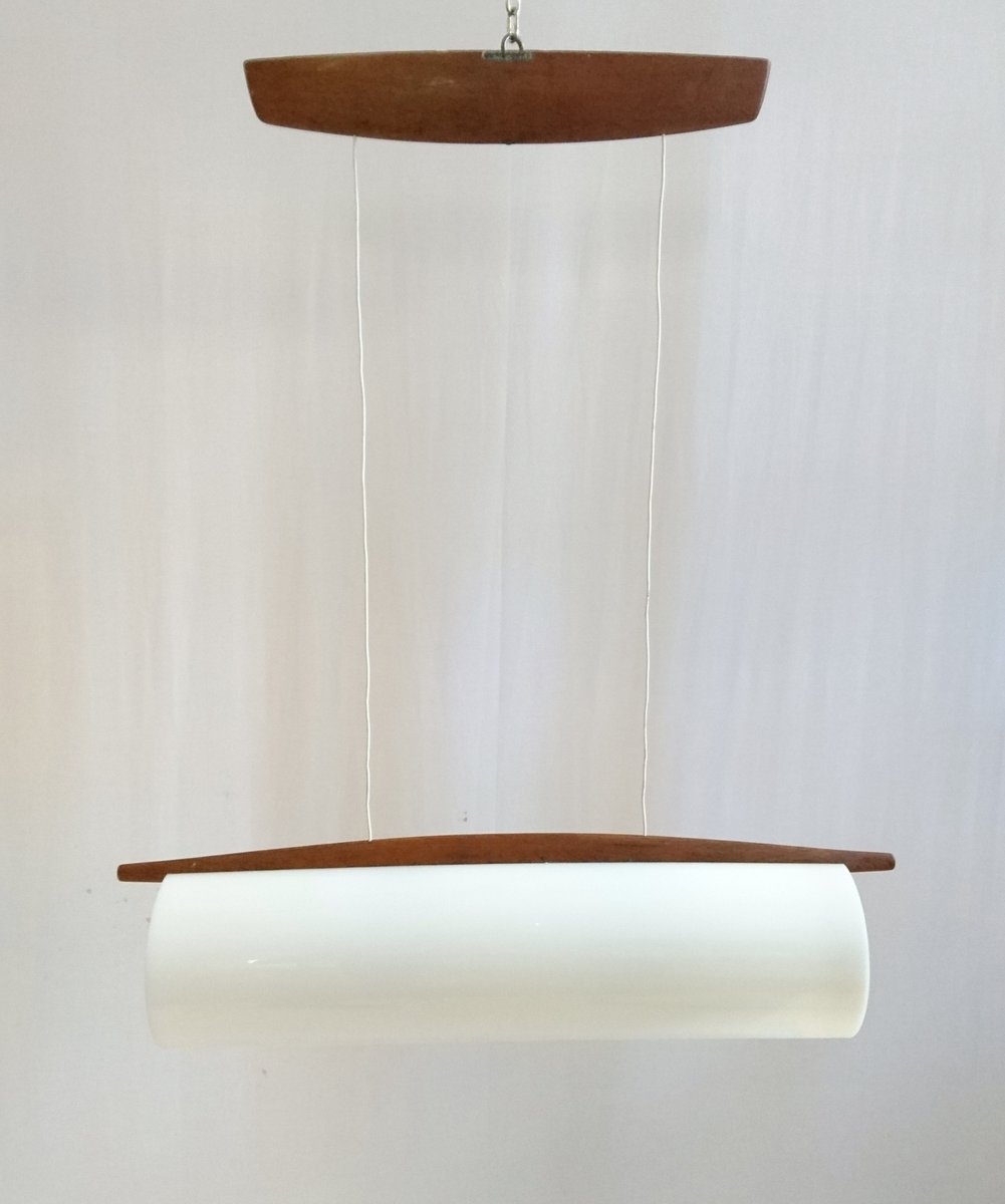Mid-Century Swedish Extendable Ceiling Lamp by Uno and Östen ...