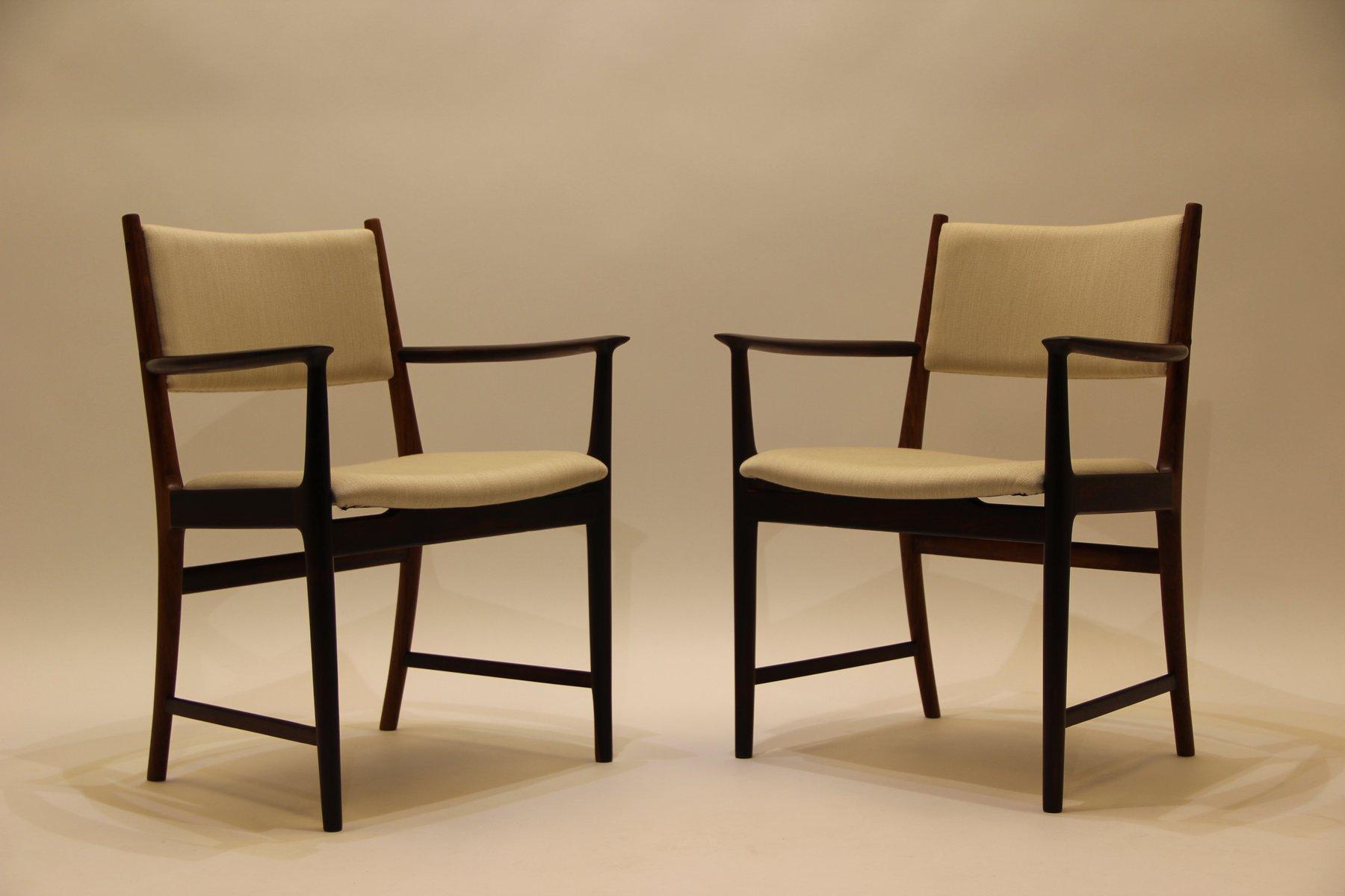 d nischer mid century palisander stuhl von kai lyngfeld. Black Bedroom Furniture Sets. Home Design Ideas