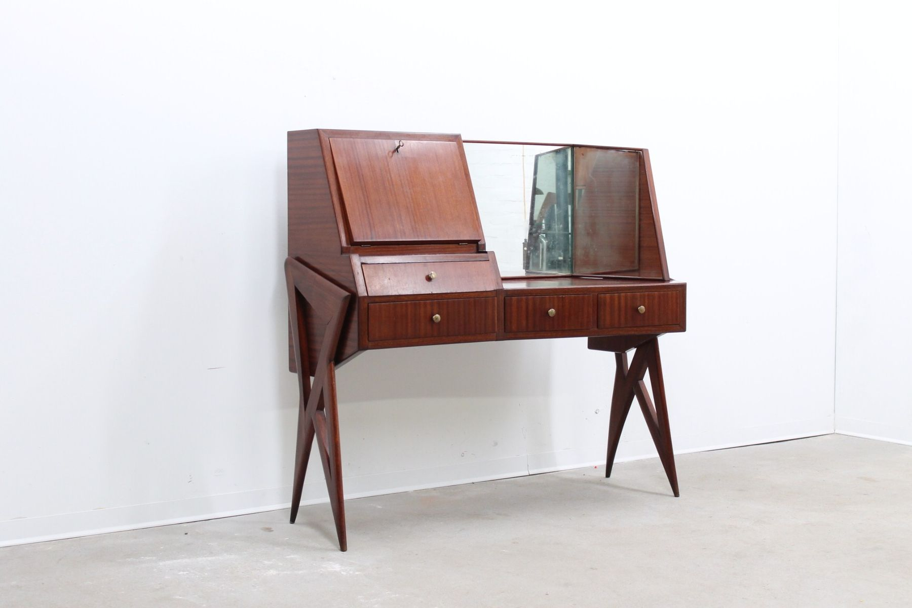 midcentury bar cabinet by ico parisi for sale at pamono - midcentury bar cabinet by ico parisi