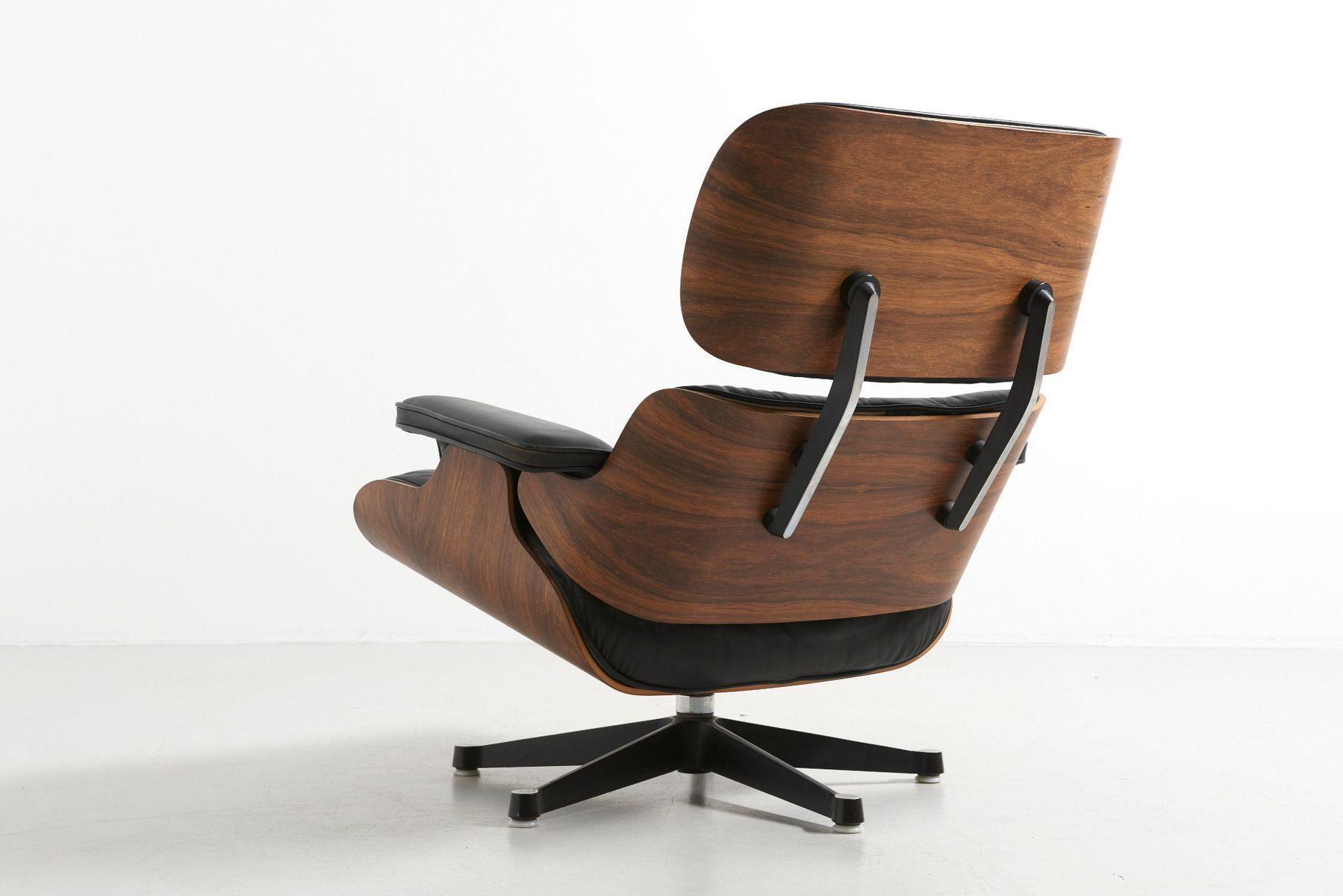 Vintage Lounge Chairs and Ottoman by Charles & Ray Eames