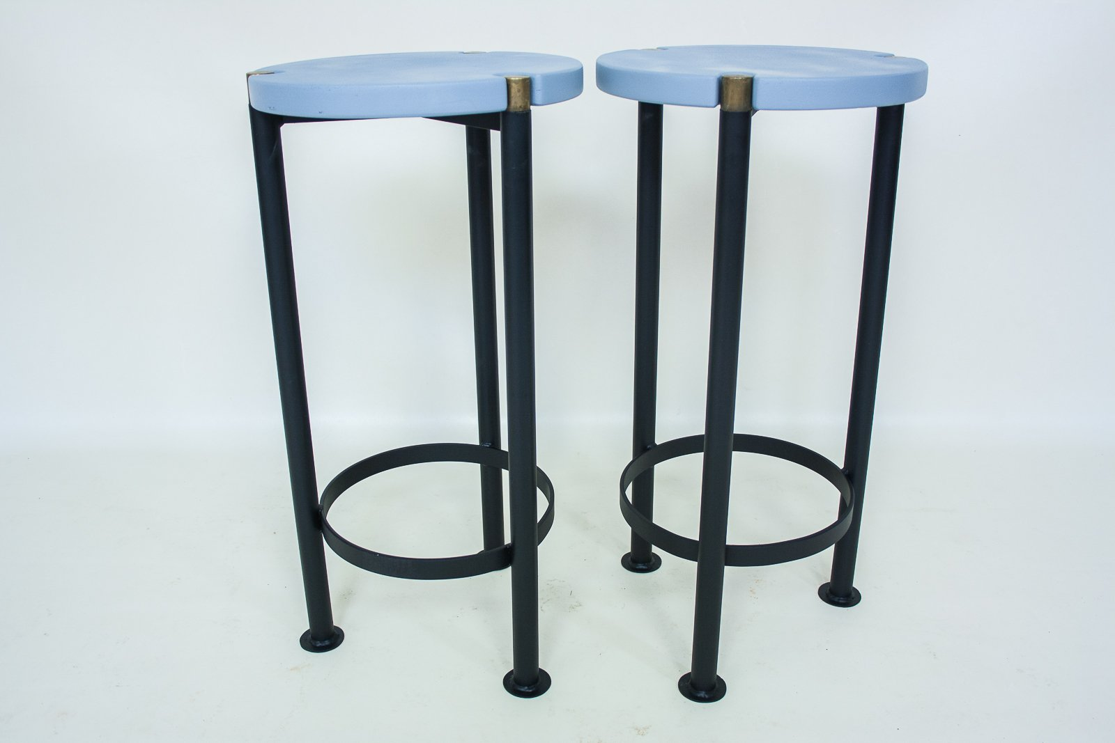 Brutalist Bar Stools Set Of 2 For Sale At Pamono
