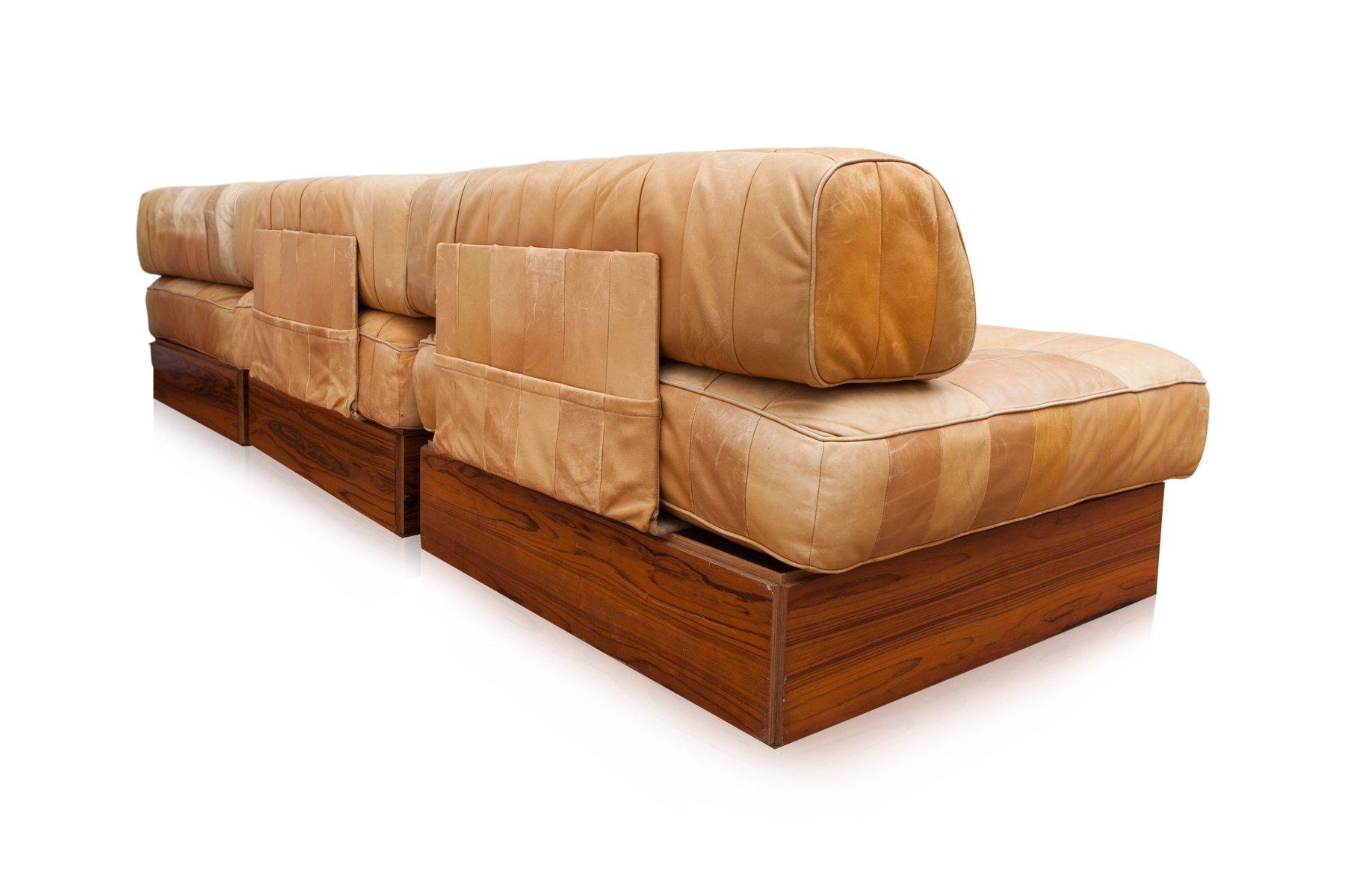 modulares mid century ds 88 sofa von de sede 1970er bei. Black Bedroom Furniture Sets. Home Design Ideas