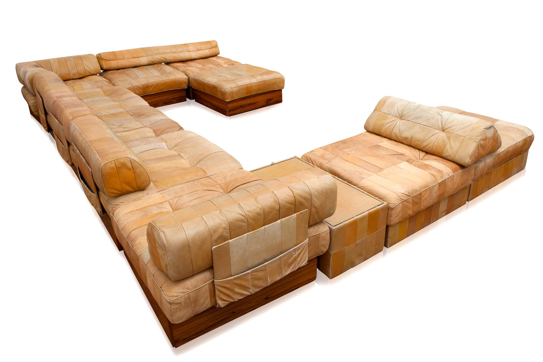 mid century ds 88 landscape sofa from de sede 1970s for sale at pamono. Black Bedroom Furniture Sets. Home Design Ideas