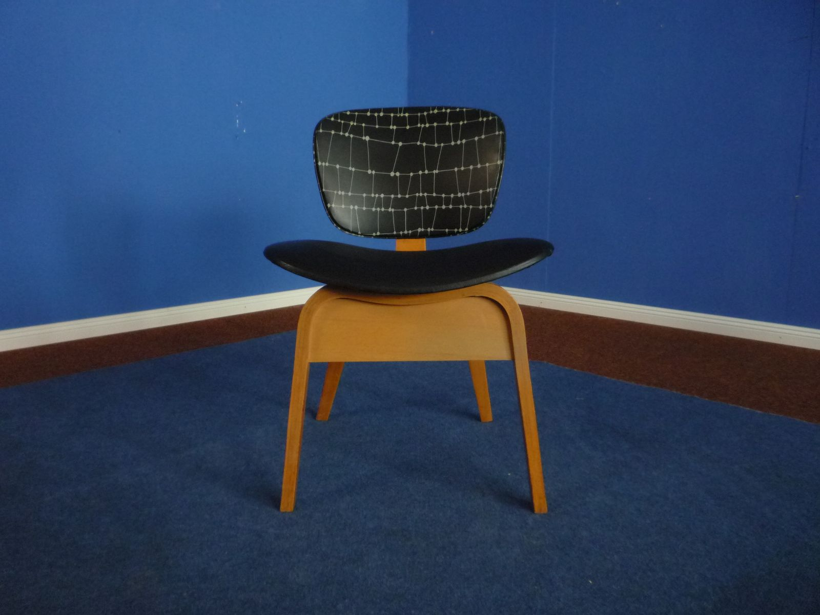 Mid century german plywood chair 1950s for sale at pamono for Z chair mid century