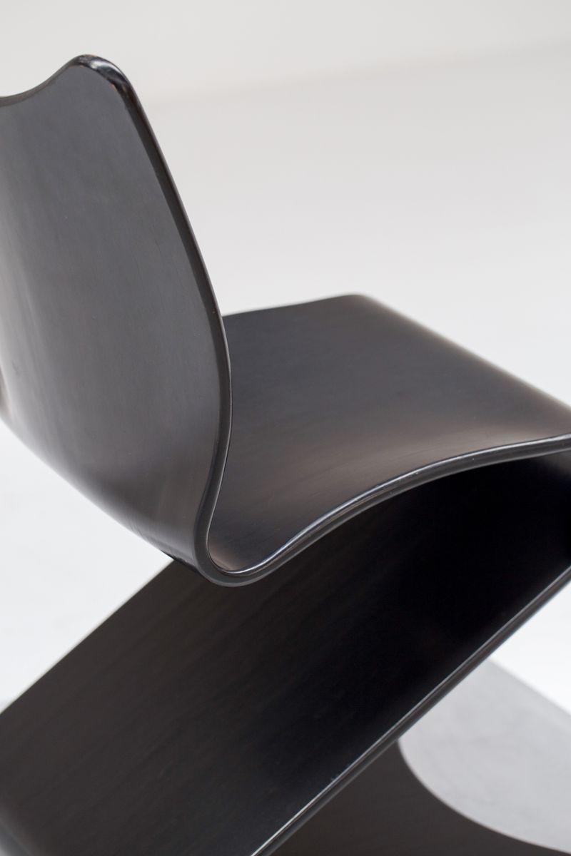 mid century s stuhl von verner panton f r thonet bei pamono kaufen. Black Bedroom Furniture Sets. Home Design Ideas