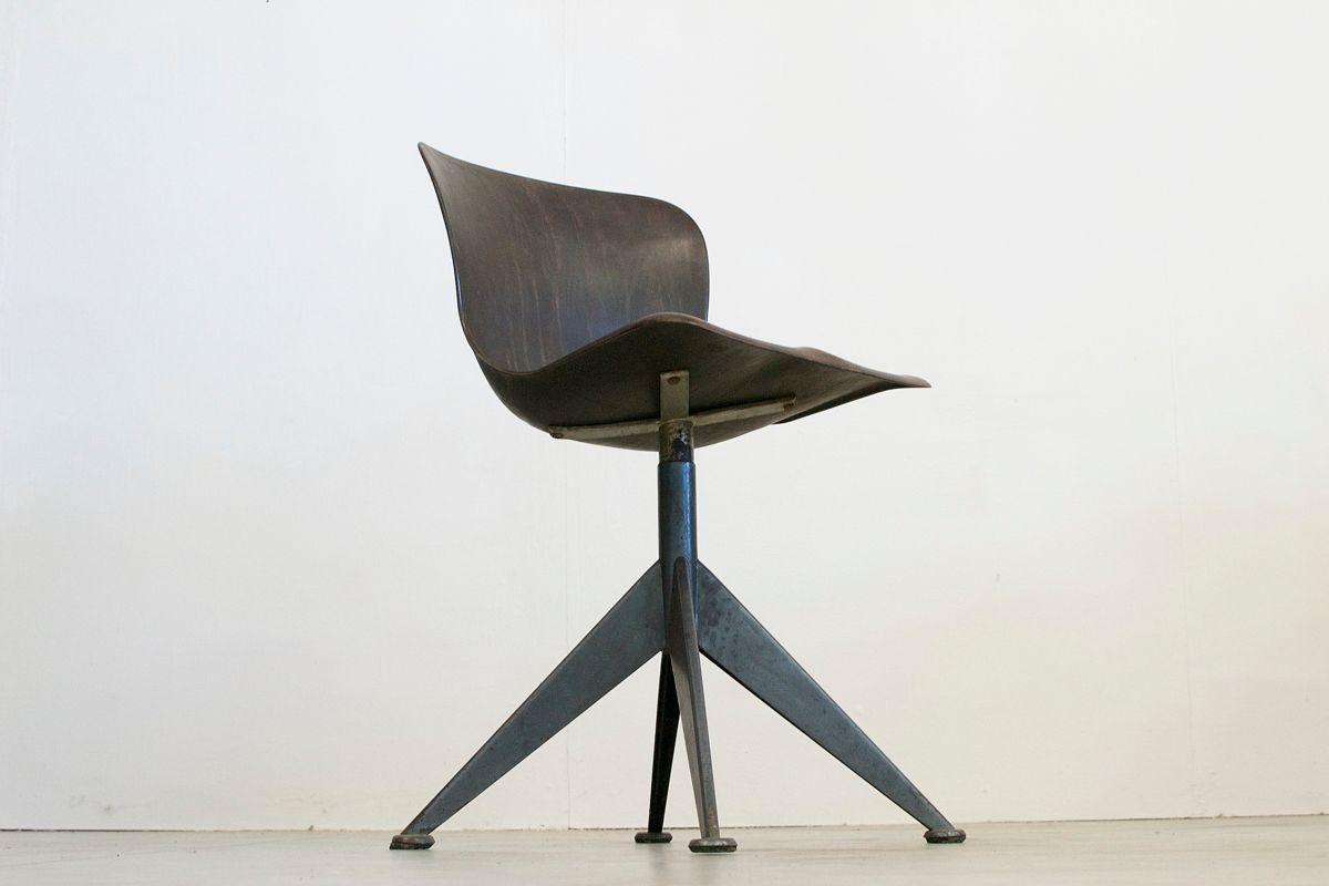 Chaise de bureau mid century mod le fff de pagholz fl totto en vente sur pamono - Chaise de bureau en solde ...