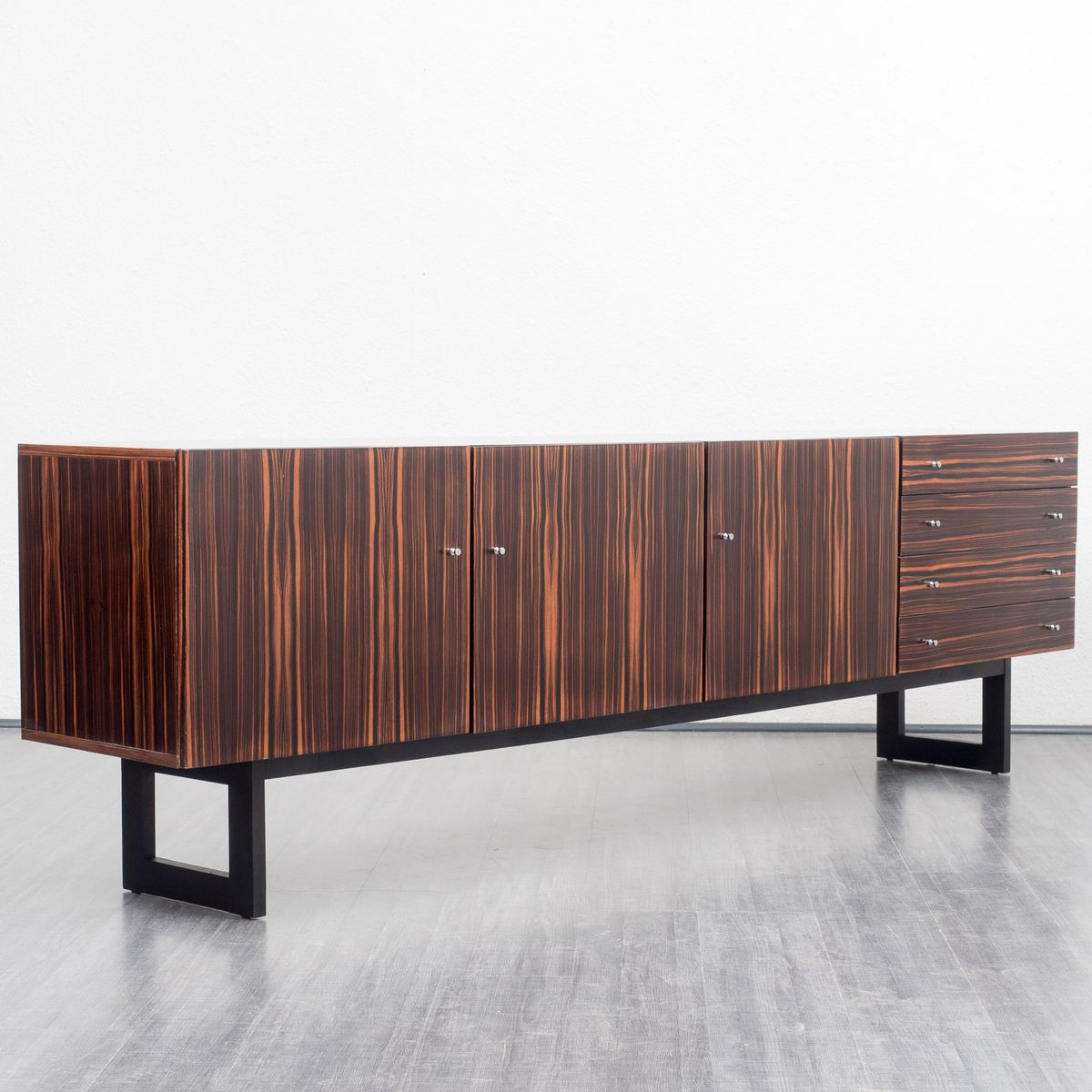 gro es mid century palisander sideboard 1960er bei pamono kaufen. Black Bedroom Furniture Sets. Home Design Ideas