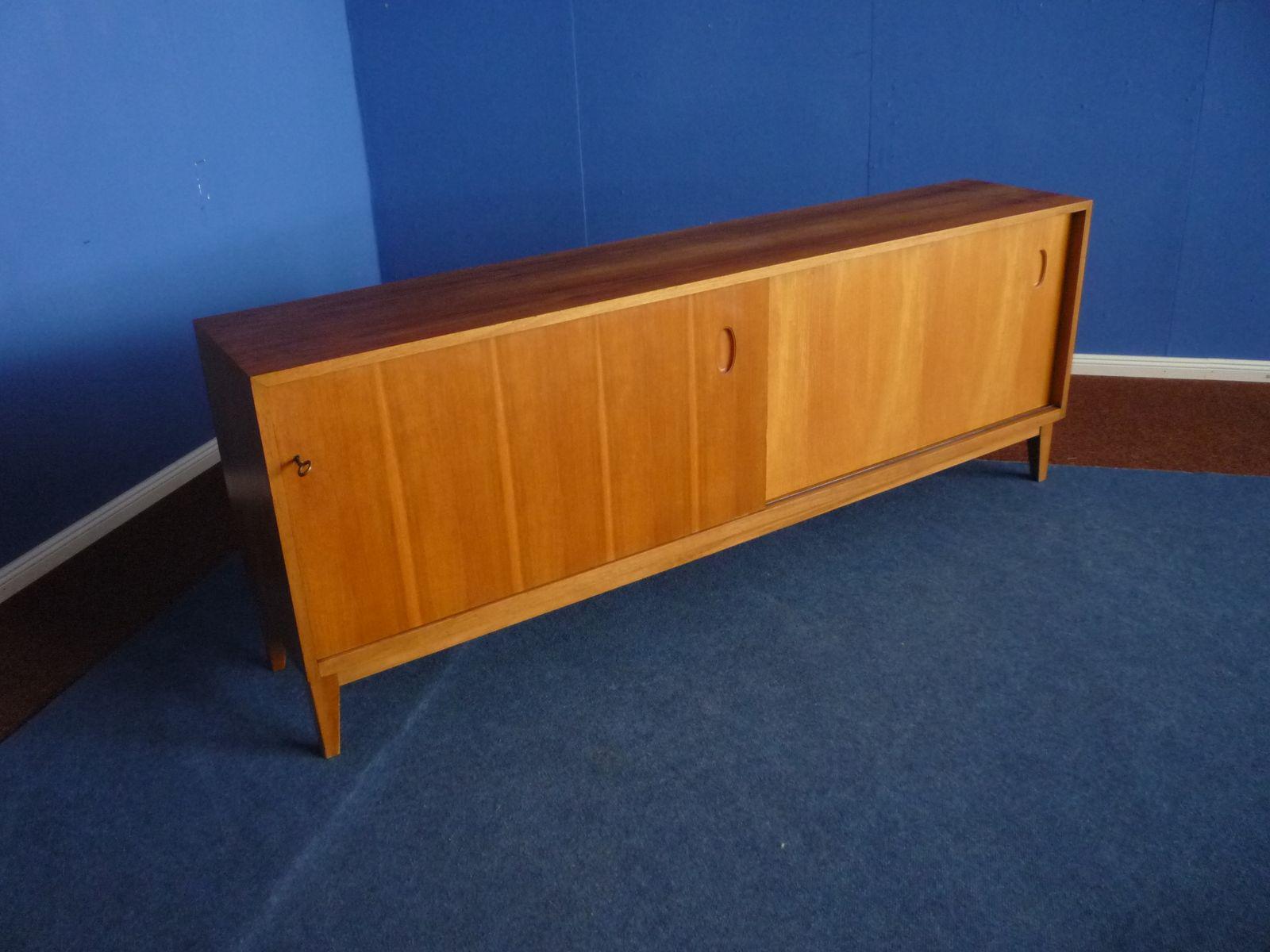mid century sideboard von georg satink f r wk m bel. Black Bedroom Furniture Sets. Home Design Ideas