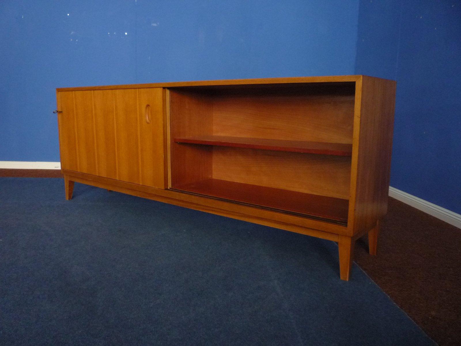 mid century sideboard von georg satink f r wk m bel 1950er bei pamono kaufen. Black Bedroom Furniture Sets. Home Design Ideas