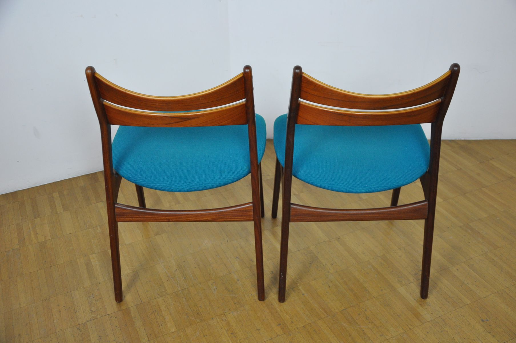 d nische modell 310 st hle von erik buch f r chr christiansen 1950er 4er set bei pamono kaufen. Black Bedroom Furniture Sets. Home Design Ideas