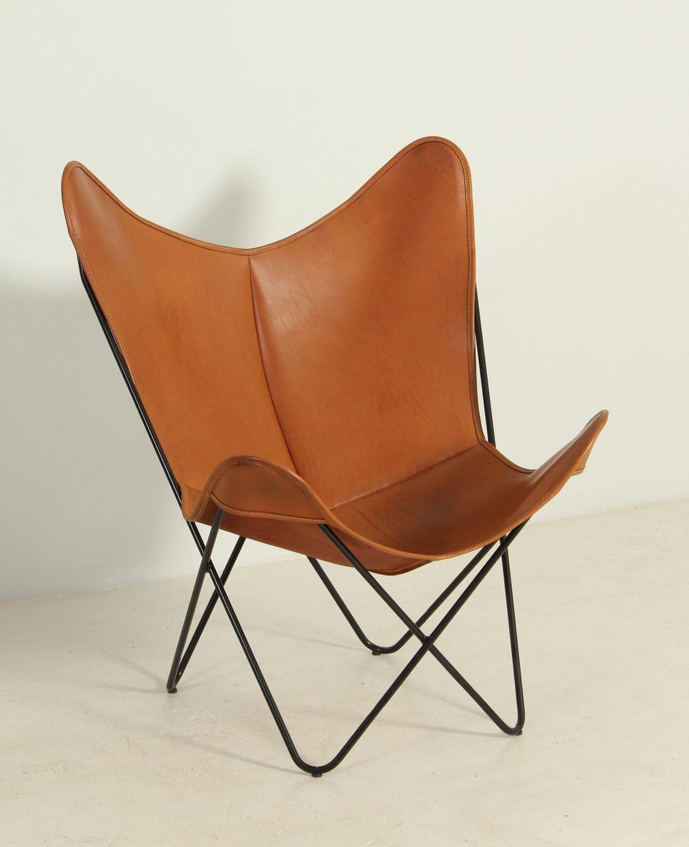 chaise butterfly par ferrari kurchan and bonet 1970s en vente sur pamono. Black Bedroom Furniture Sets. Home Design Ideas